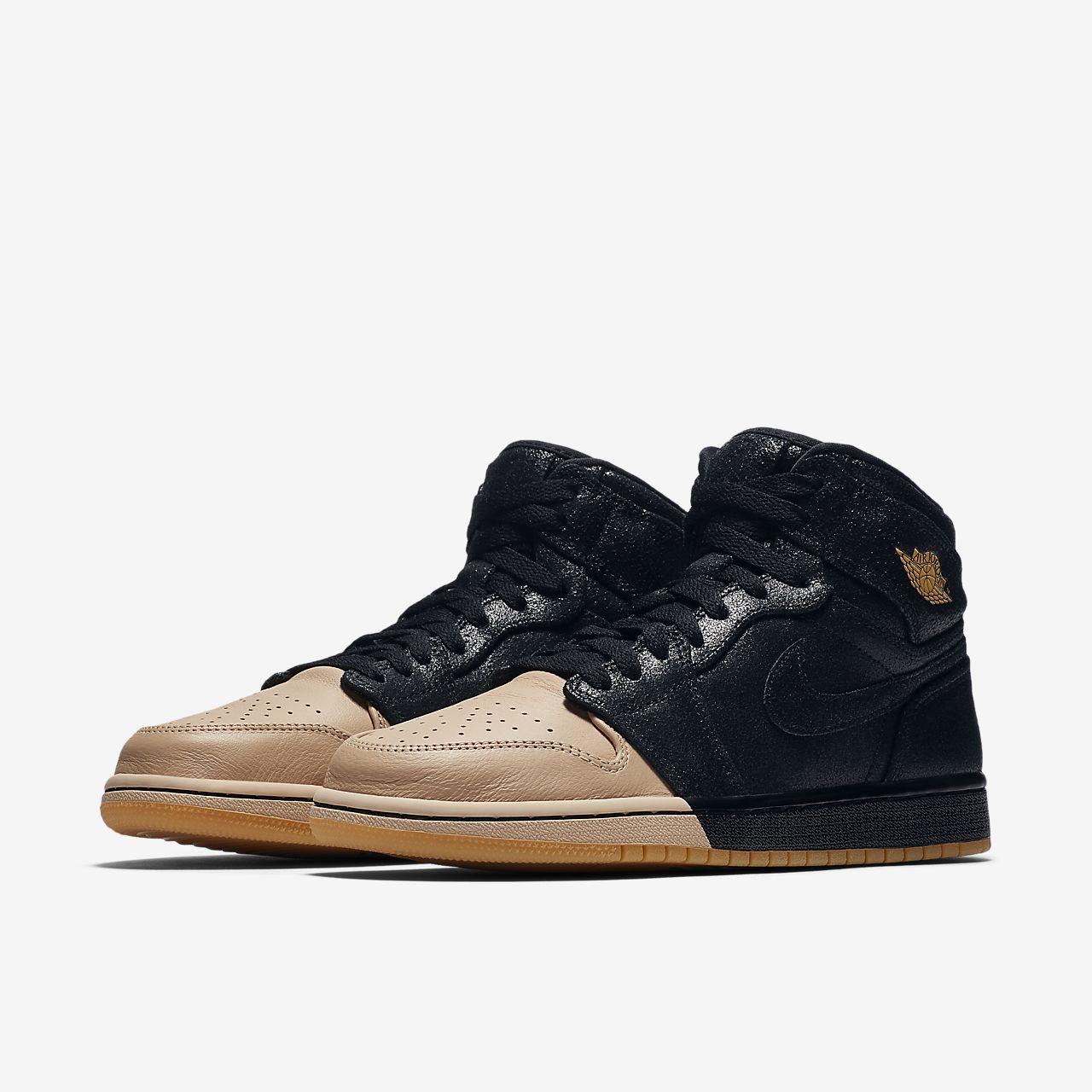 new arrival ba478 74d13 ... Nike Air Jordan 1 Retro High Premium Women s Shoe