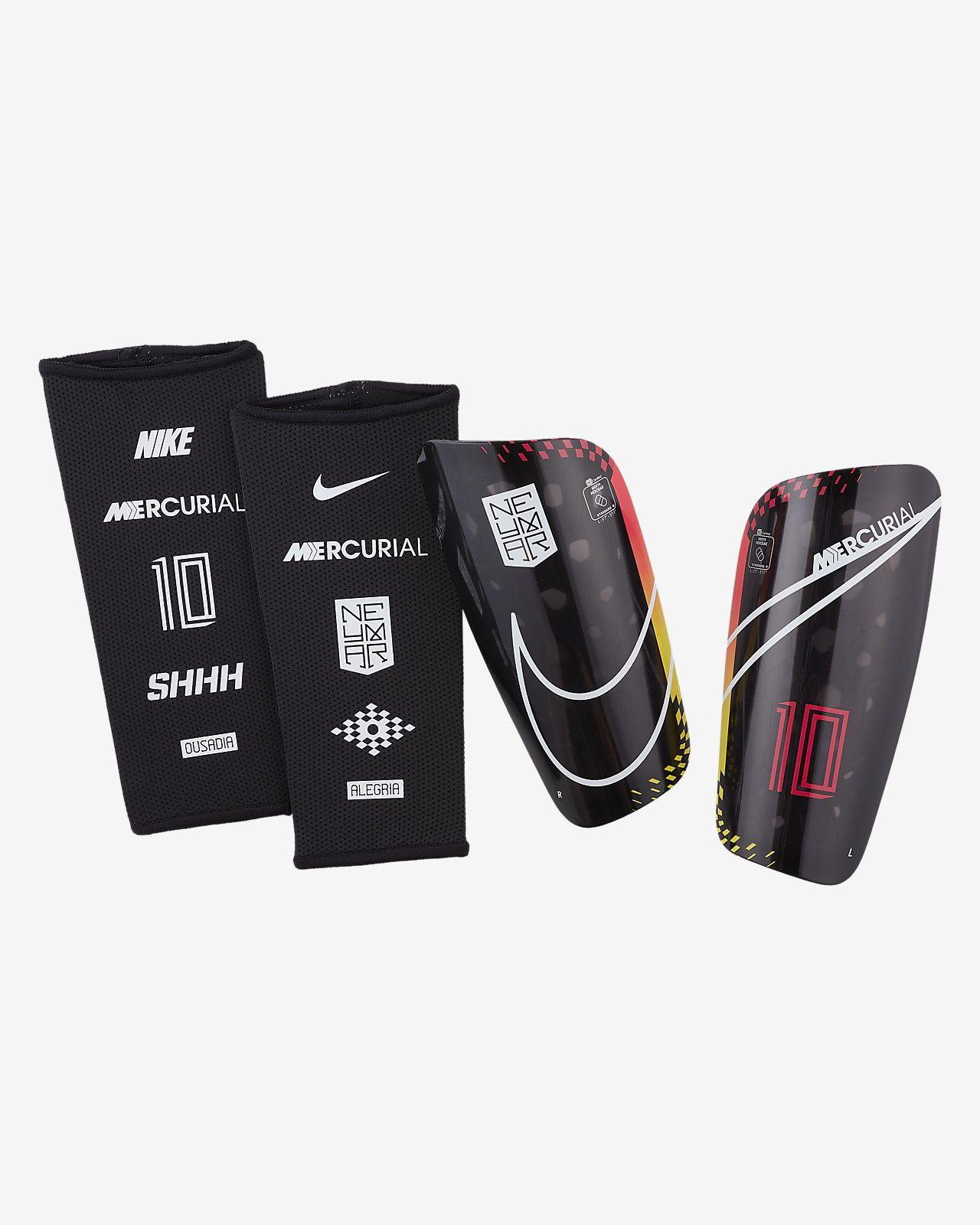 Protecciones para pierna de fútbol Nike Mercurial Lite Neymar Jr.