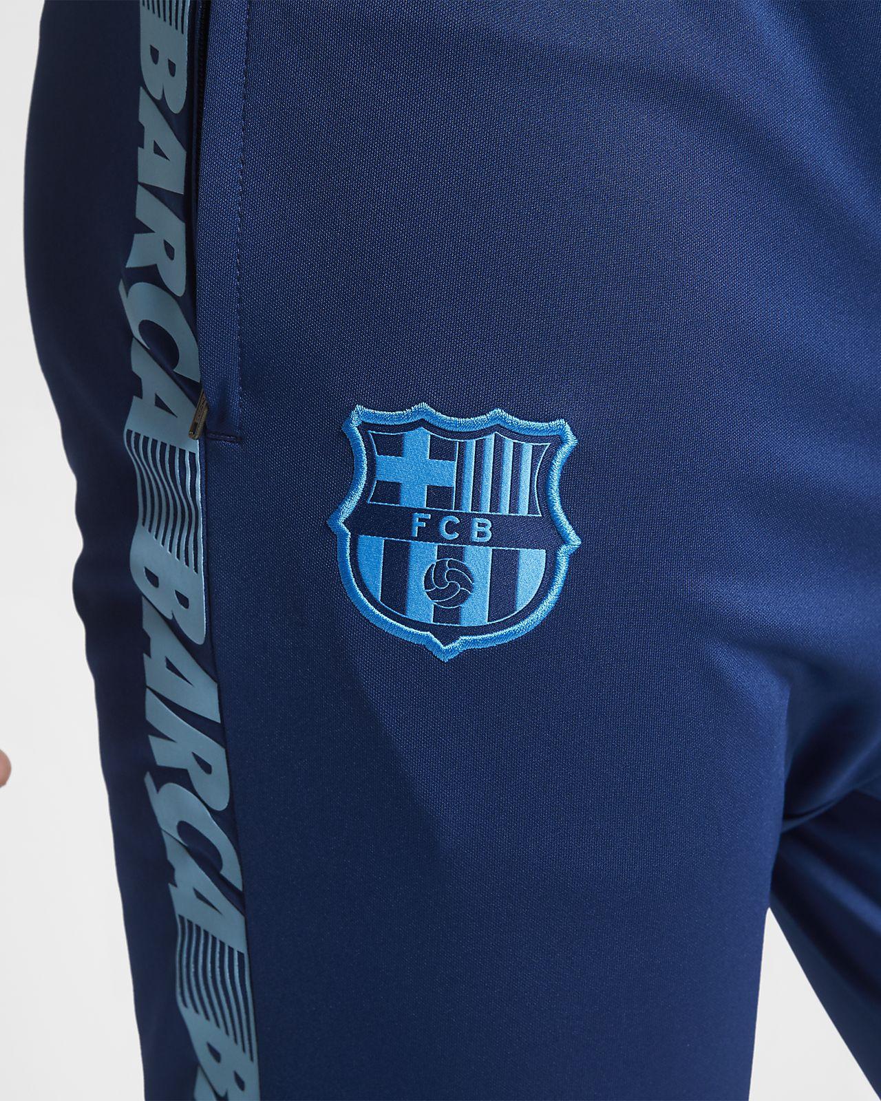 e2805ba3c6c6 FC Barcelona Dri-FIT Squad Men s Football Track Suit. Nike.com GB