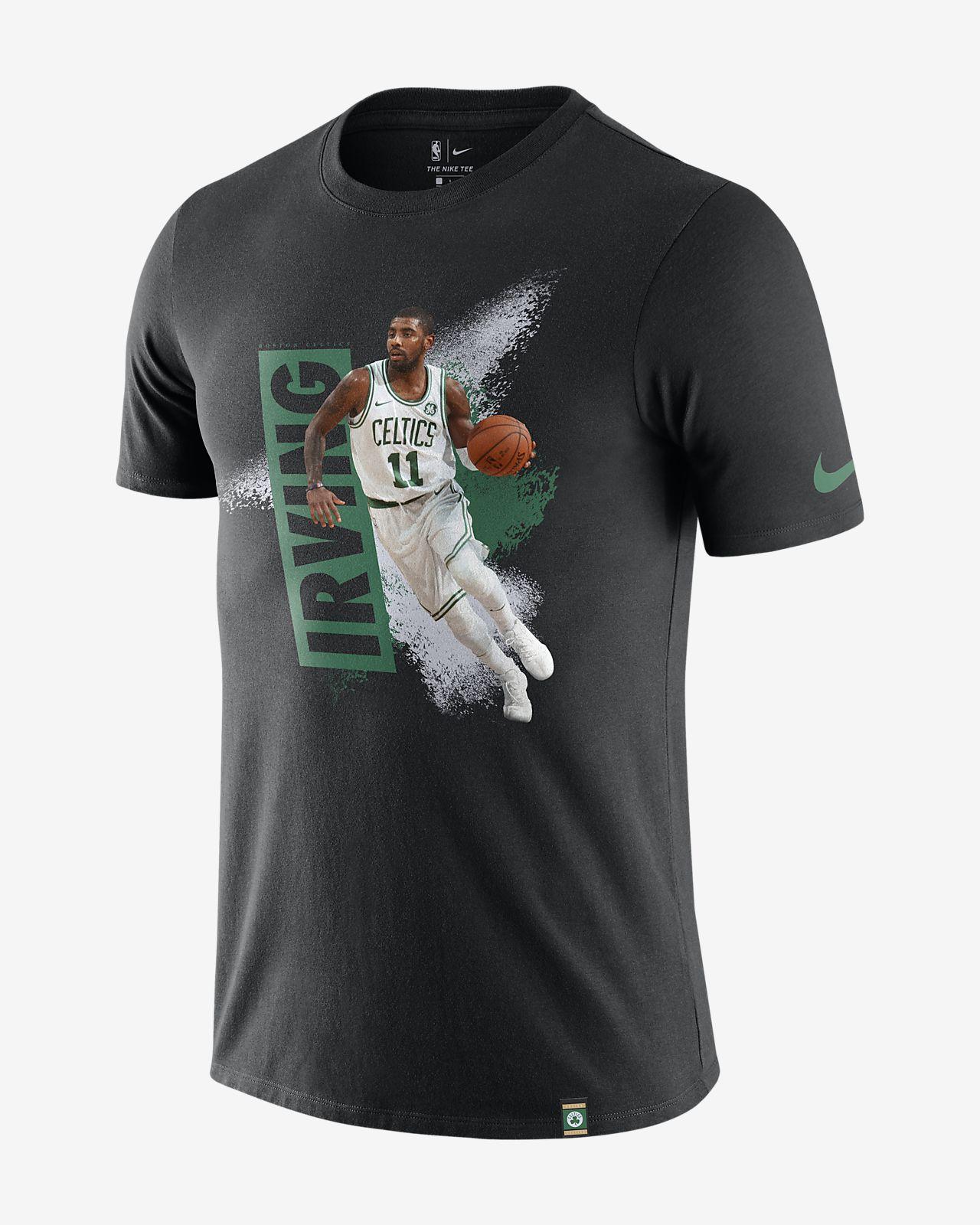 Kyrie Irving Boston Celtics Nike Dri-FIT NBA-s férfipóló