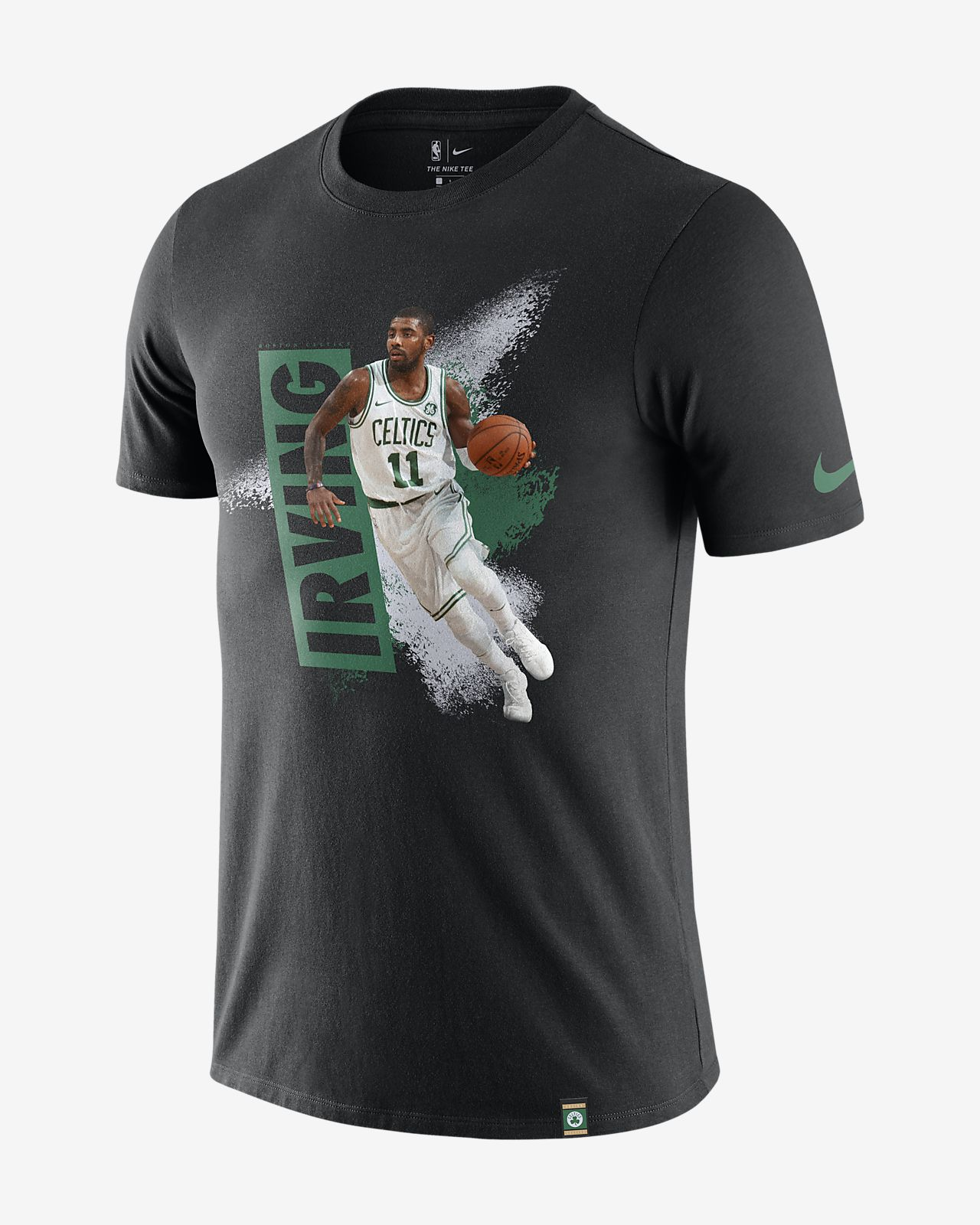 Tee-shirt NBA Kyrie Irving Boston Celtics Nike Dri-FIT pour Homme