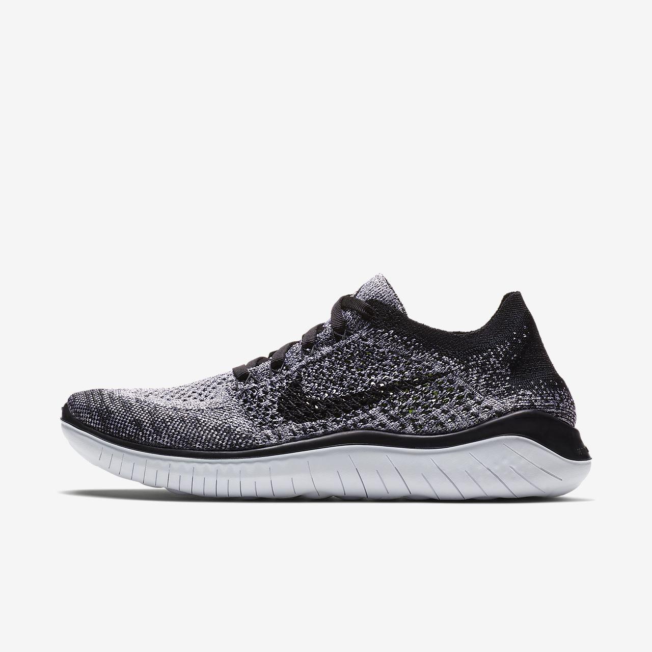 Nike - Free RN Femmes chaussure de course (blanc/noir) - EU 40,5 - US 9