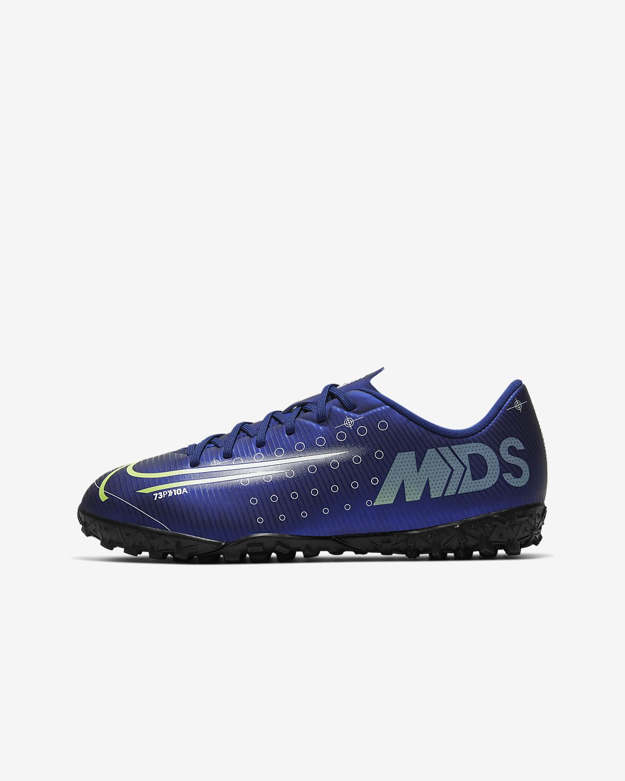 Nike Jr. Mercurial Vapor 13 Academy MDS TF Botas de fútbol para moqueta - Turf artificial - Niño/a y niño/a pequeño/a