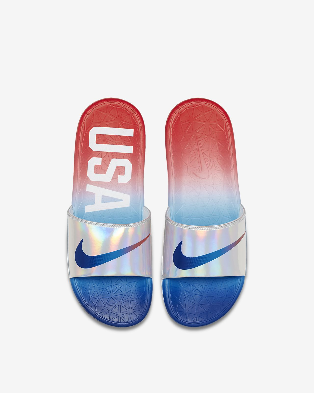 Nike Benassi Solarsoft OLYFED 男子拖鞋