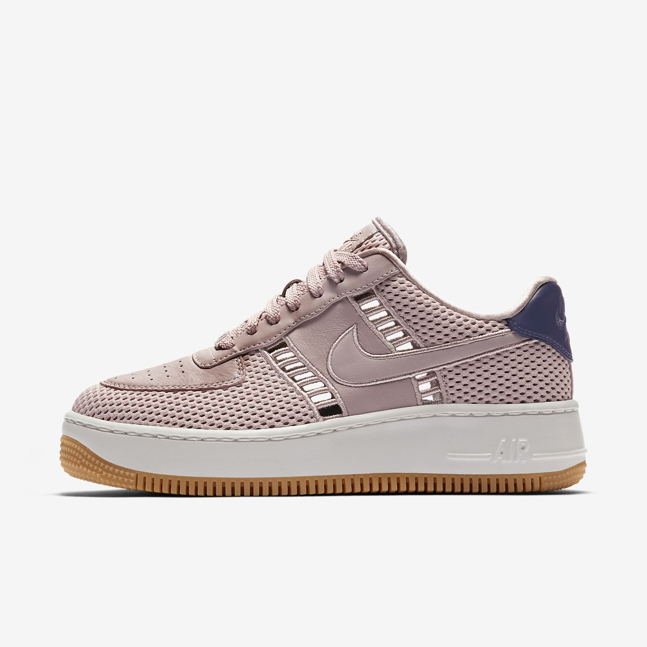 nike air force 1 upstep roze