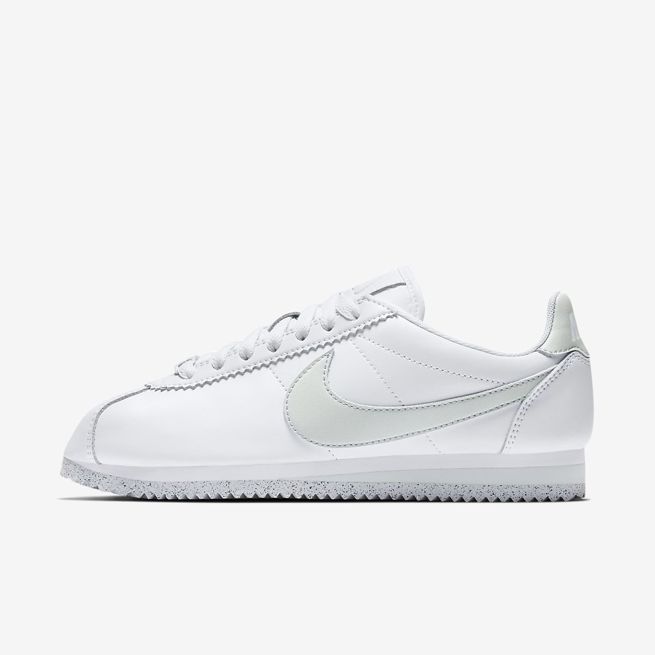 Women s Shoe. Nike Classic Cortez Flyleather with at least 50% leather fiber c45dd955f565