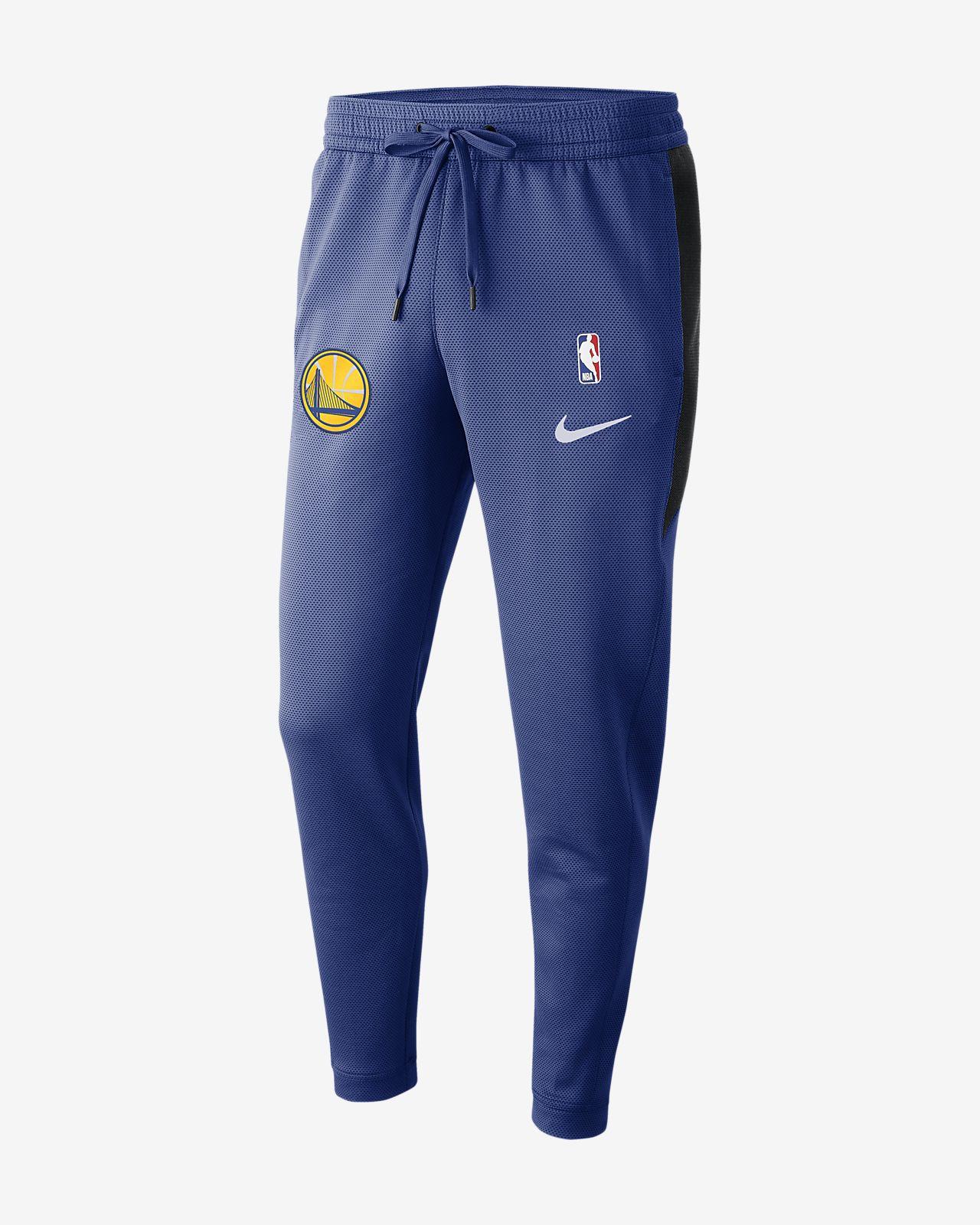 Pantalon NBA Golden State Warriors Nike Therma Flex Showtime pour Homme