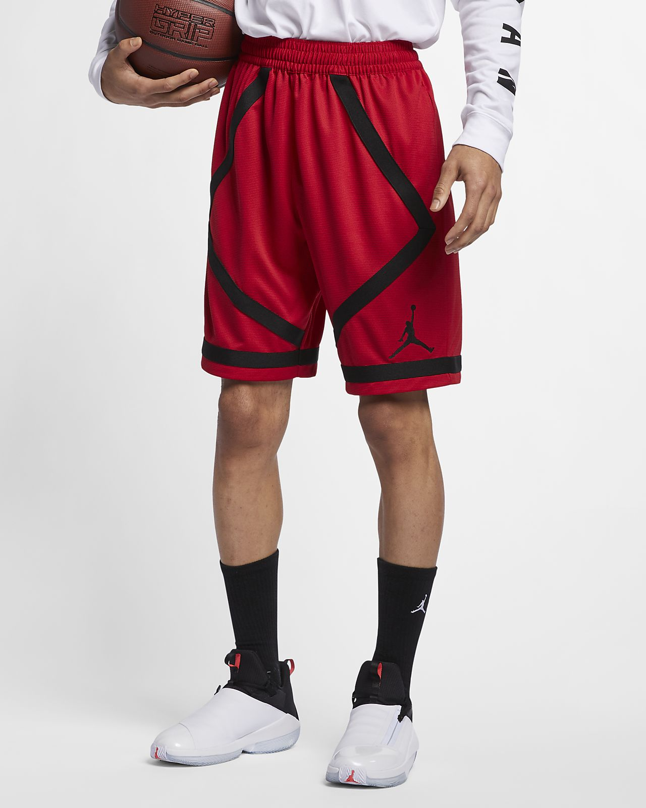 239945838628 Jordan Dri-FIT Men s Taped Basketball Shorts. Nike.com IN
