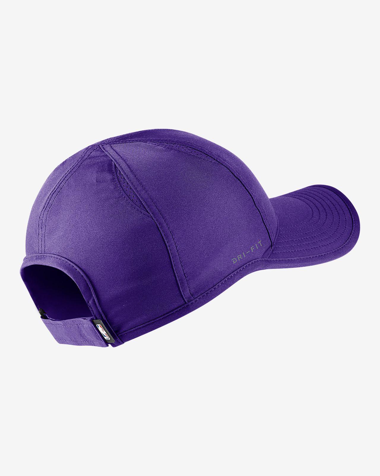 650ec6a6cb329 Los Angeles Lakers Nike AeroBill Featherlight NBA Hat. Nike.com