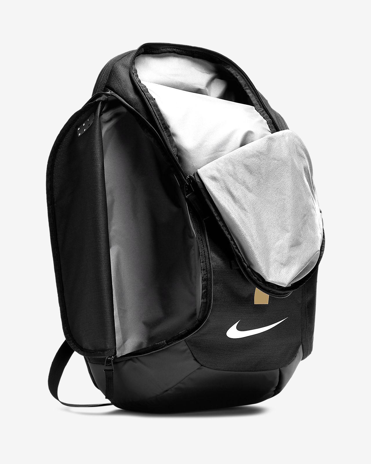 Nike Hoops Elite Max Air Team 2.0 Backpack, GreyBlackGold