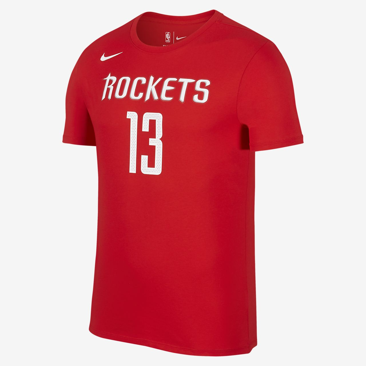nike dri fit nba rockets harden men 39 s basketball t shirt. Black Bedroom Furniture Sets. Home Design Ideas