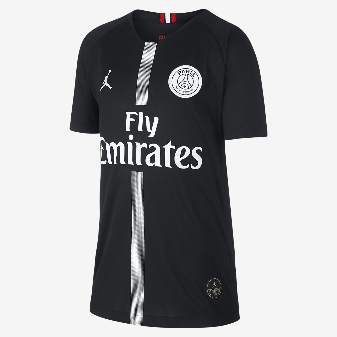 6b1a5535c 2018 19 Paris Saint-Germain Stadium Third Older Kids  Football Shirt ...