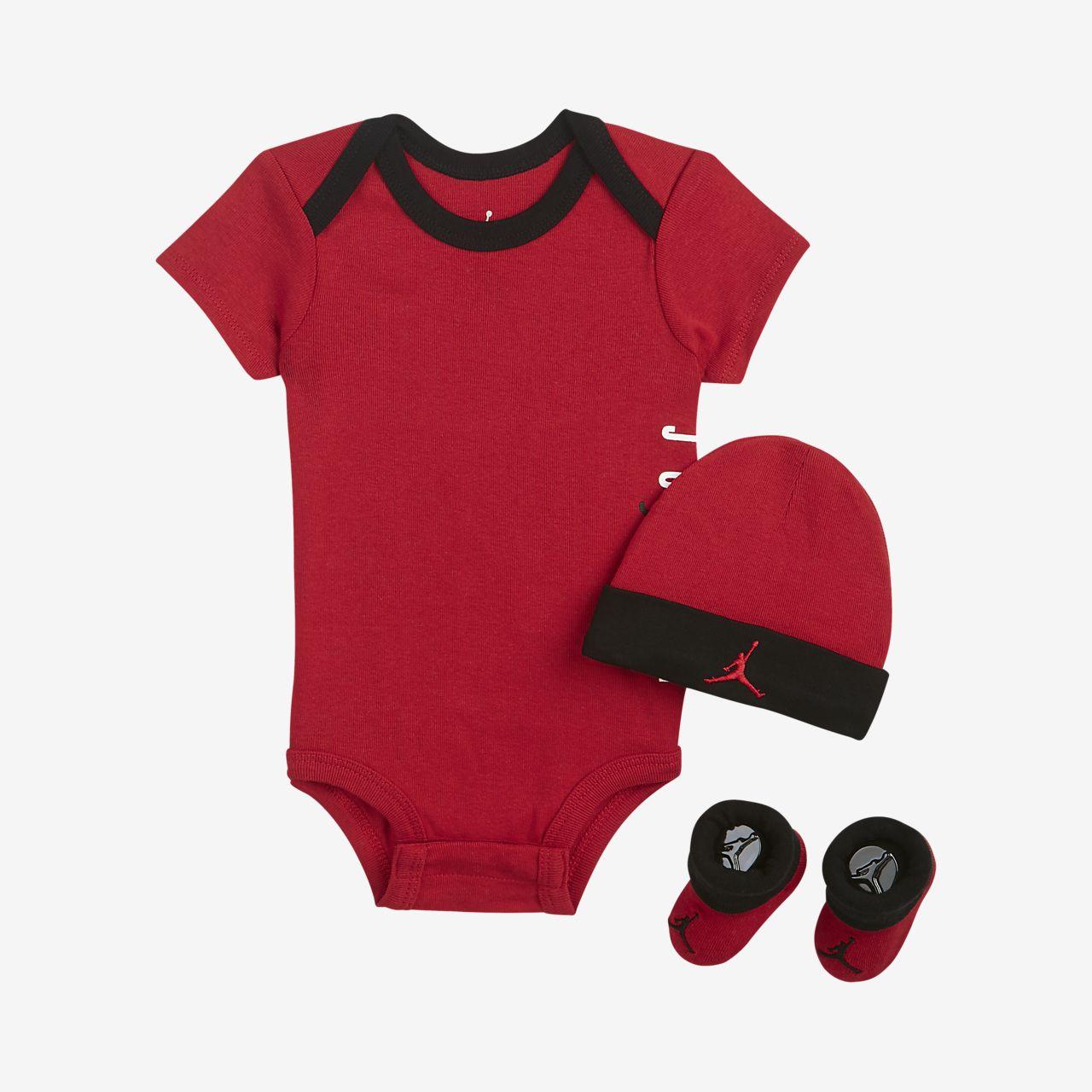Jordan Jumpman Air Conjunto de tres piezas - Bebé