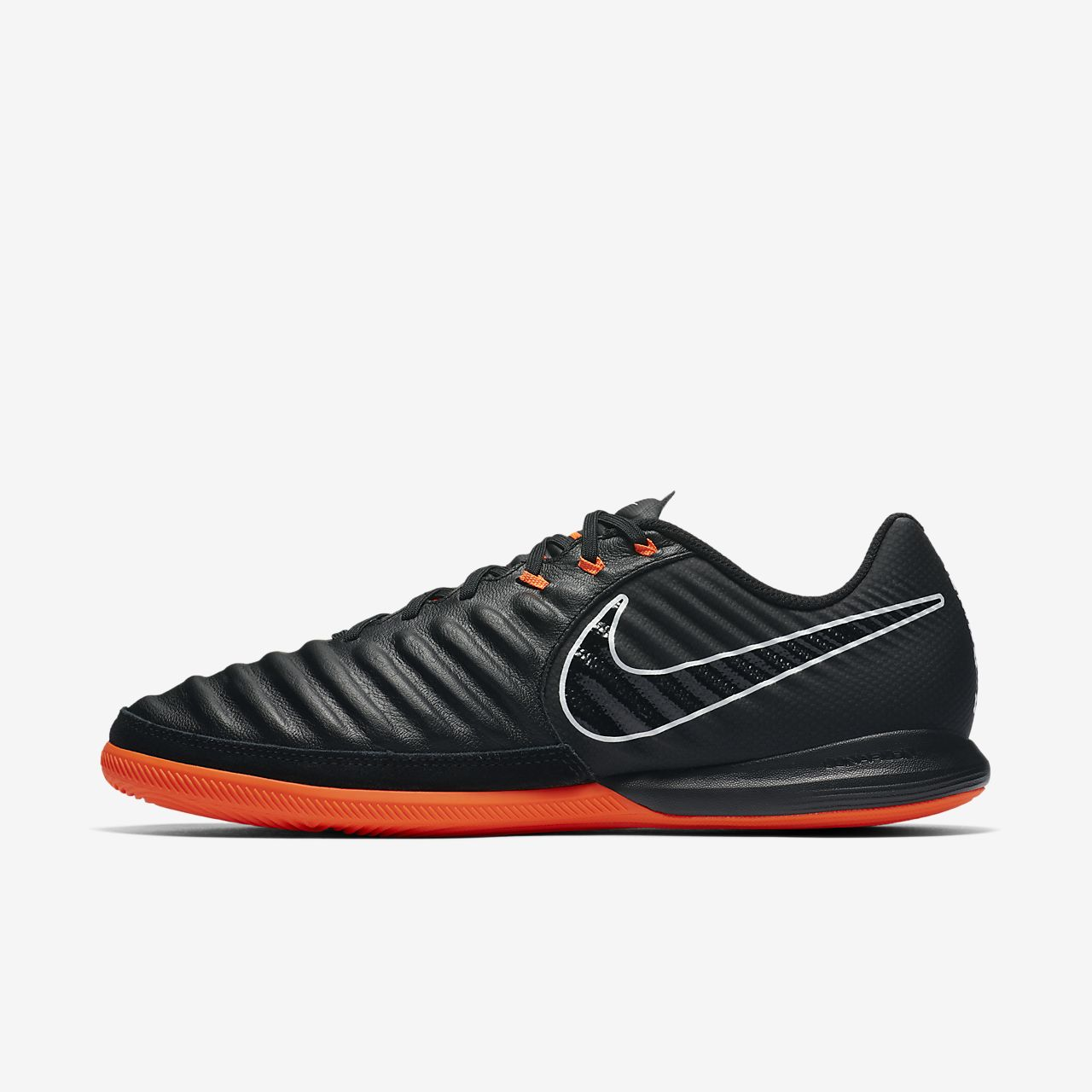 Nike TiempoX Lunar Legend VII Pro IC Black Black Total Orange AH7246080