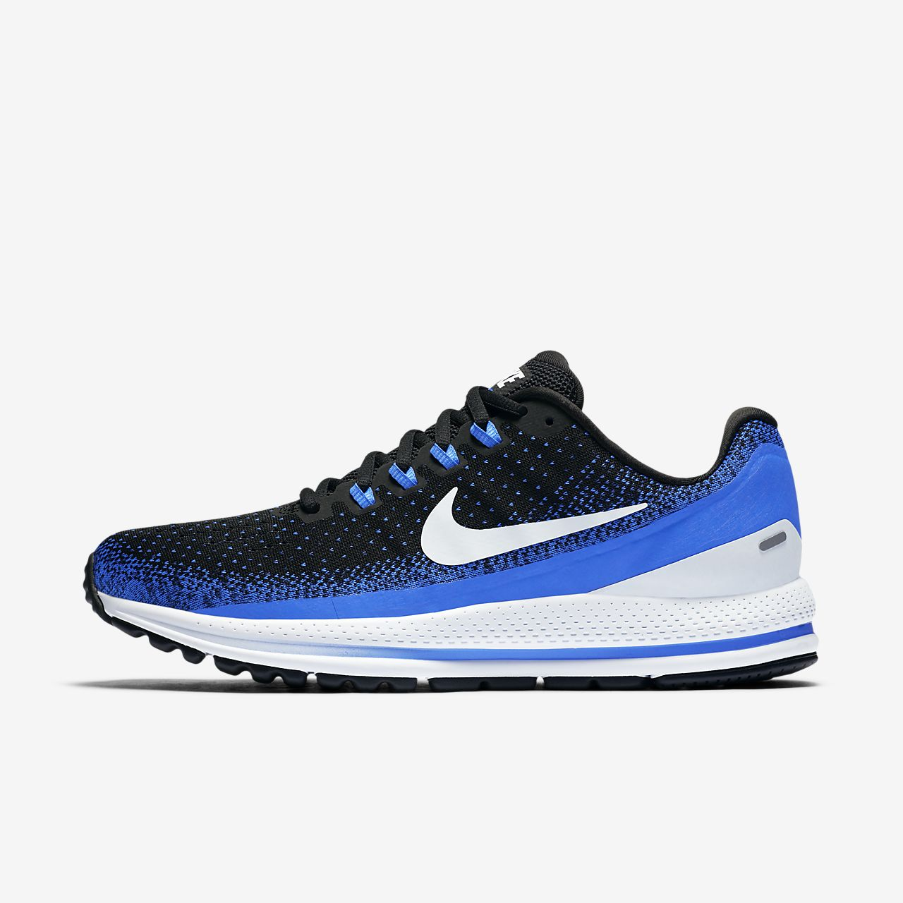Nike Air Zoom cheap Vomero 13 Black Blue Tint Racer Super Men/Women Running Shoes 922908-002