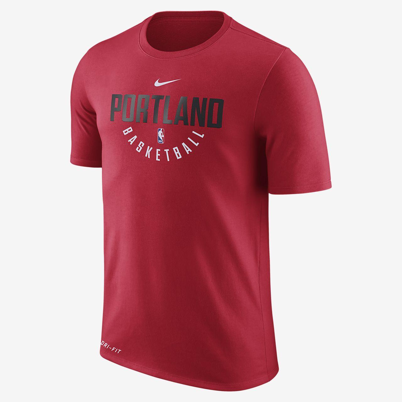 ... Portland Trail Blazers Nike Dry Men's NBA T-Shirt