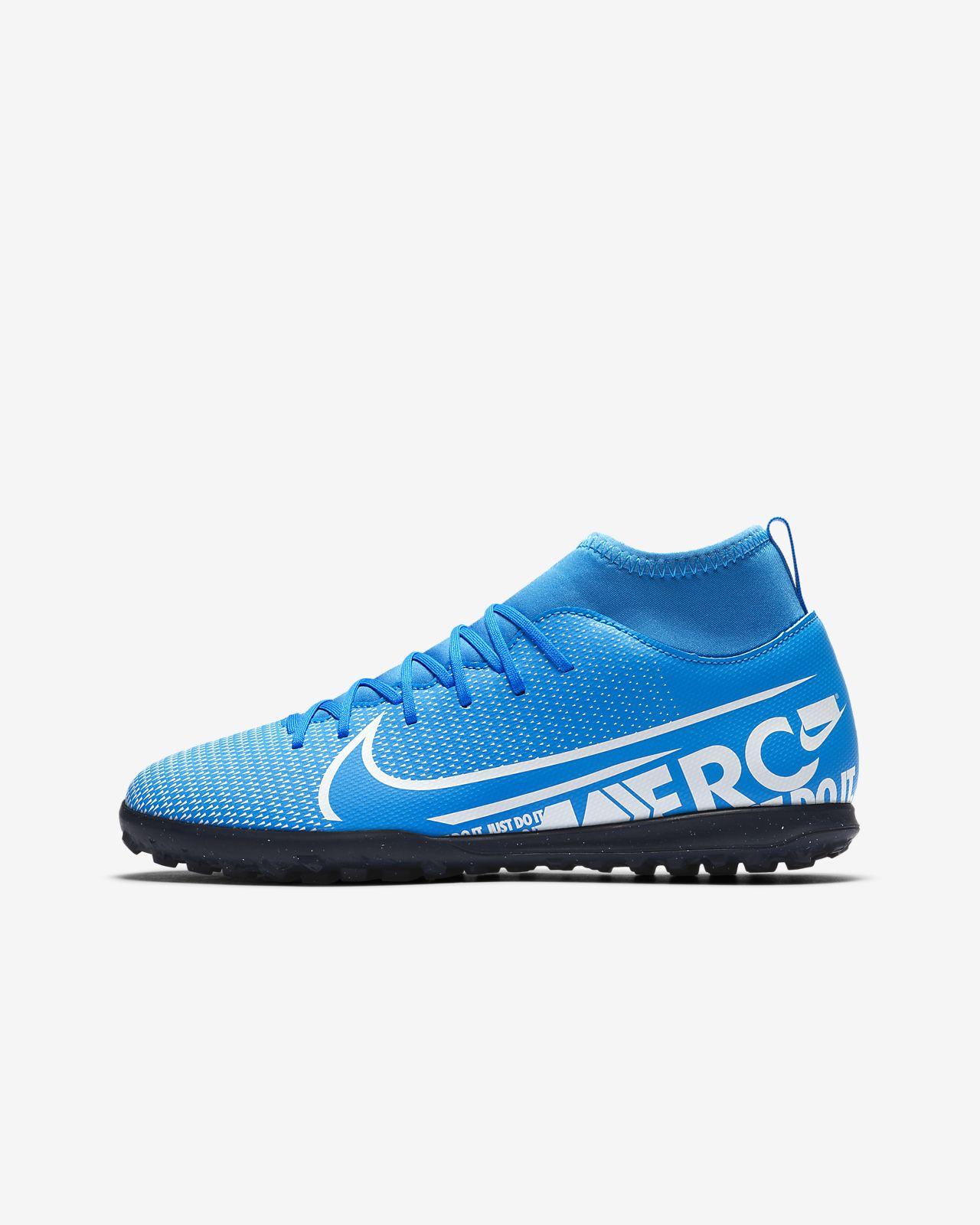 Fotbollssko för grus/turf Nike Jr. Mercurial Superfly 7 Club TF för barn/ungdom