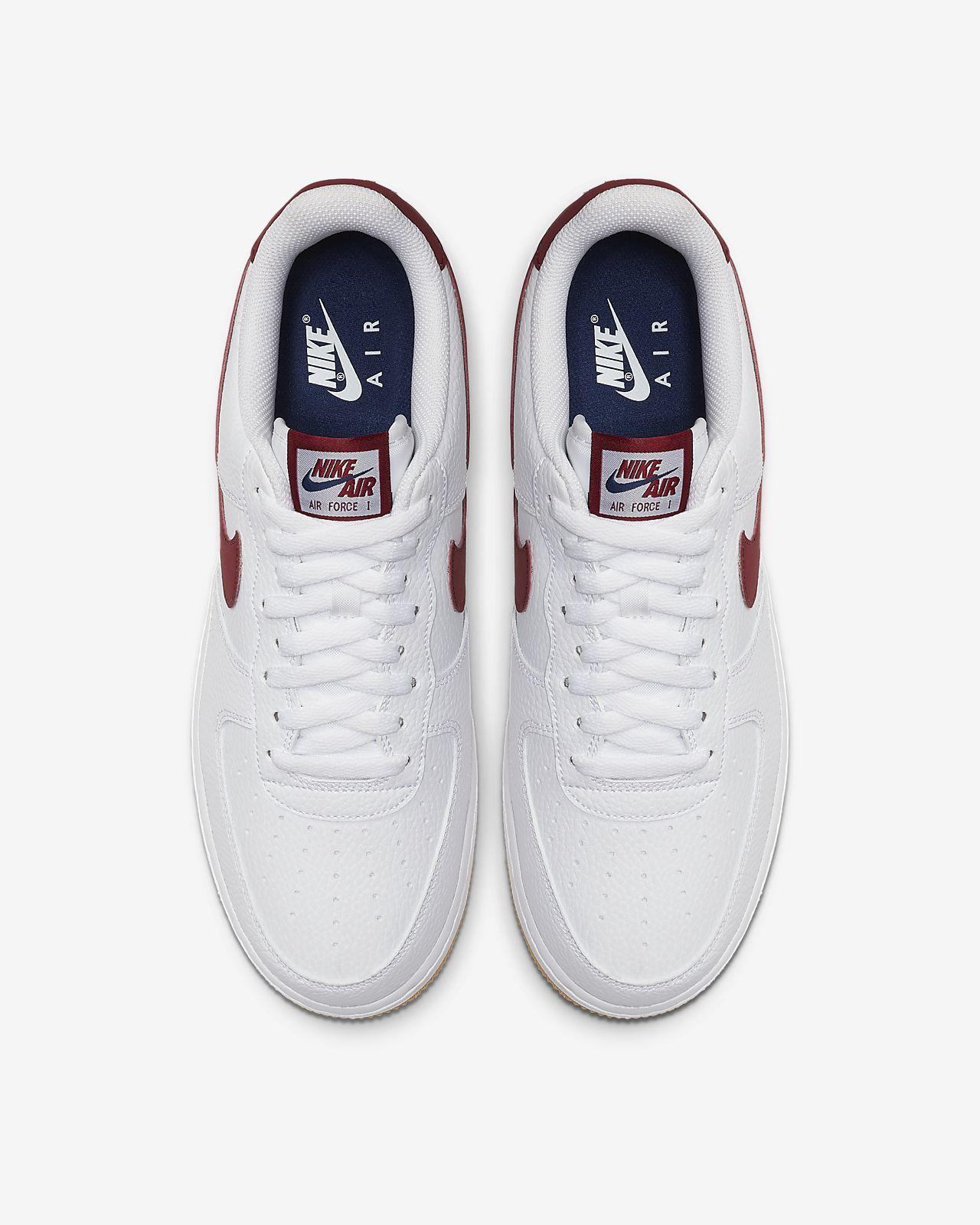 Gemütlich Nike Air Force 1 07 Low Weiß Weiß Blau : Nike Air