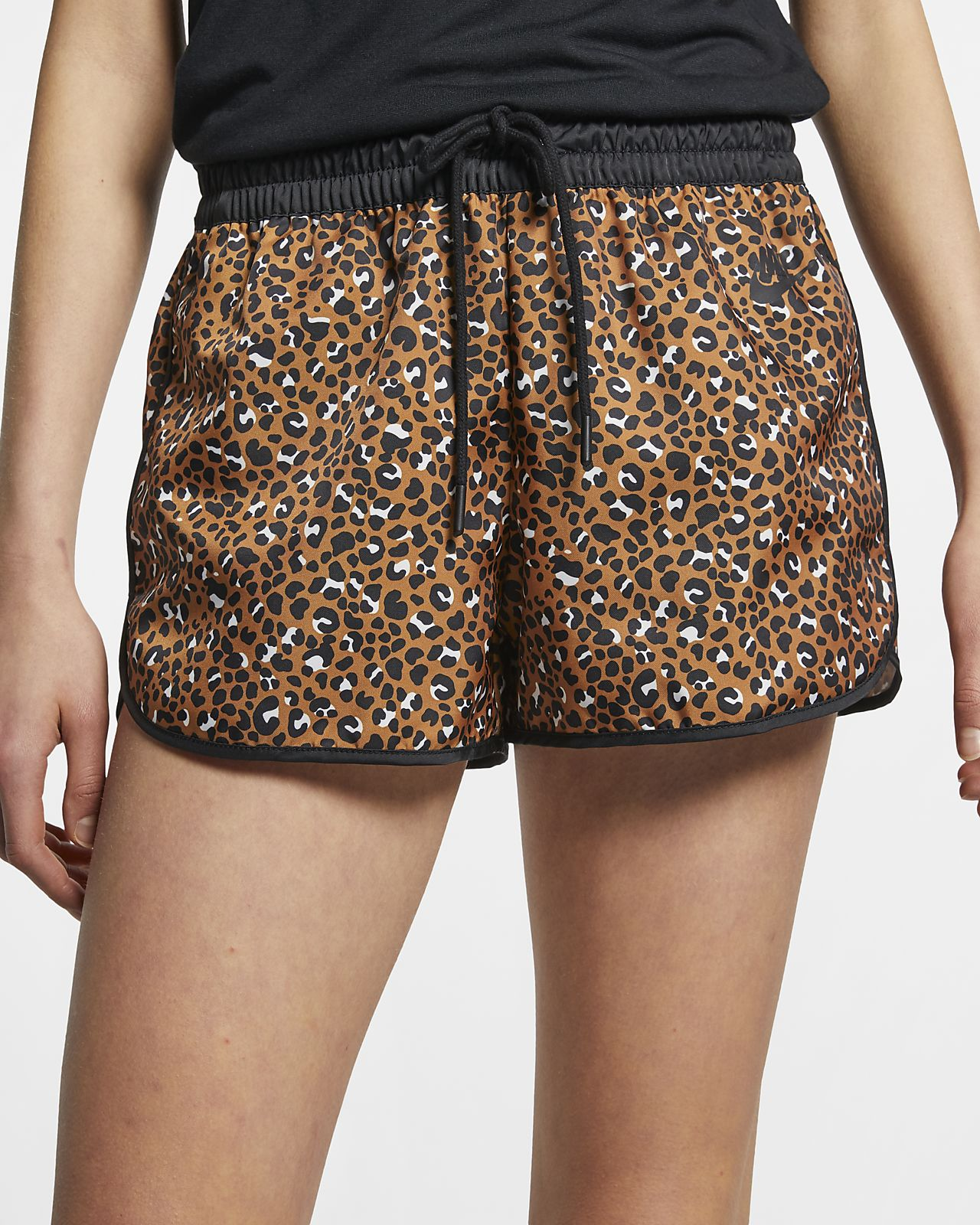 Nike Sportswear Animal Print vevd shorts til dame