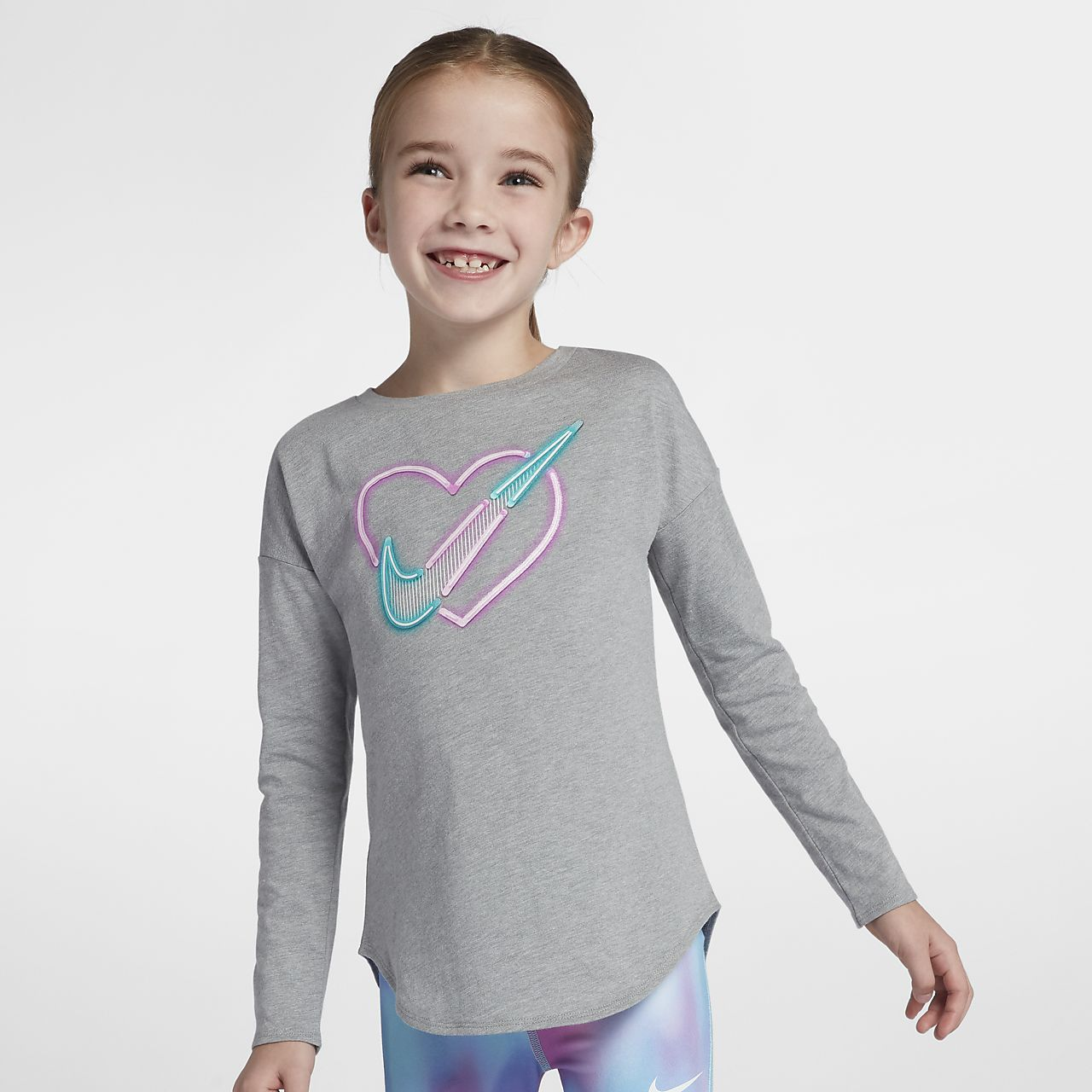 Nike Little Kids' Long-Sleeve T-Shirt