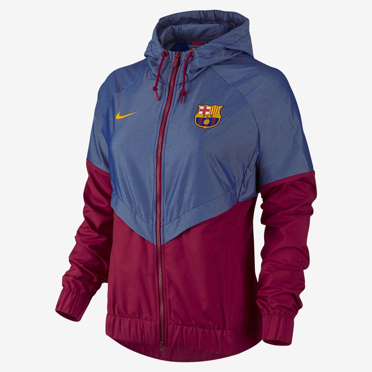 cc03b2ce608a FC Barcelona Authentic Windrunner Women s Jacket. Nike.com AE