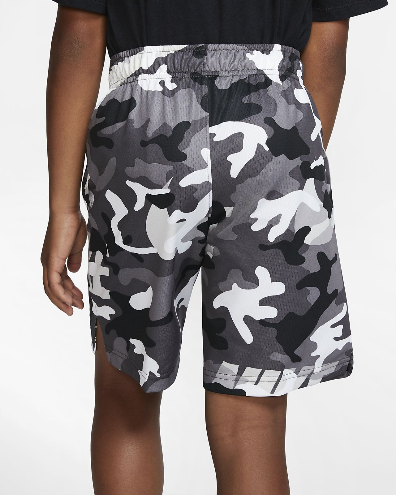 37edd6b47cf7d Nike Dri-FIT Boys' Camo Training Shorts. Nike.com