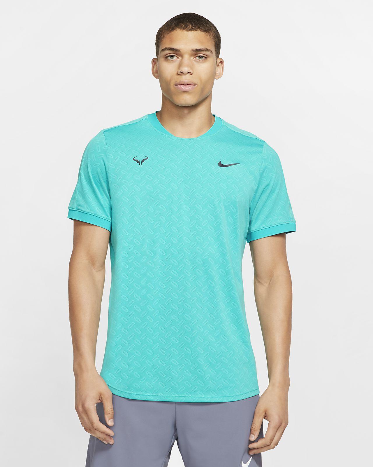 NikeCourt AeroReact Rafa Erkek Tenis Üstü