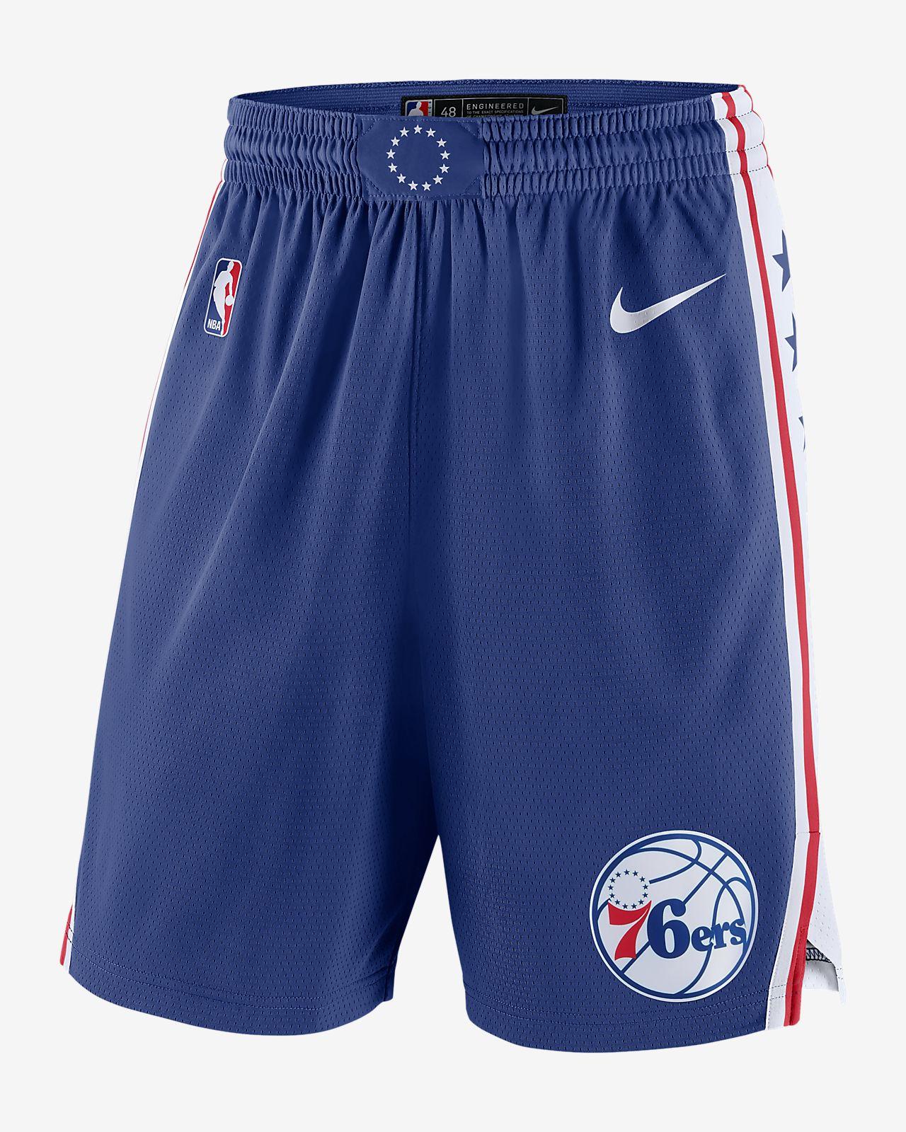 Philadelphia 76ers Icon Edition Swingman Men s Nike NBA Shorts. Nike.com 3c74faec2831