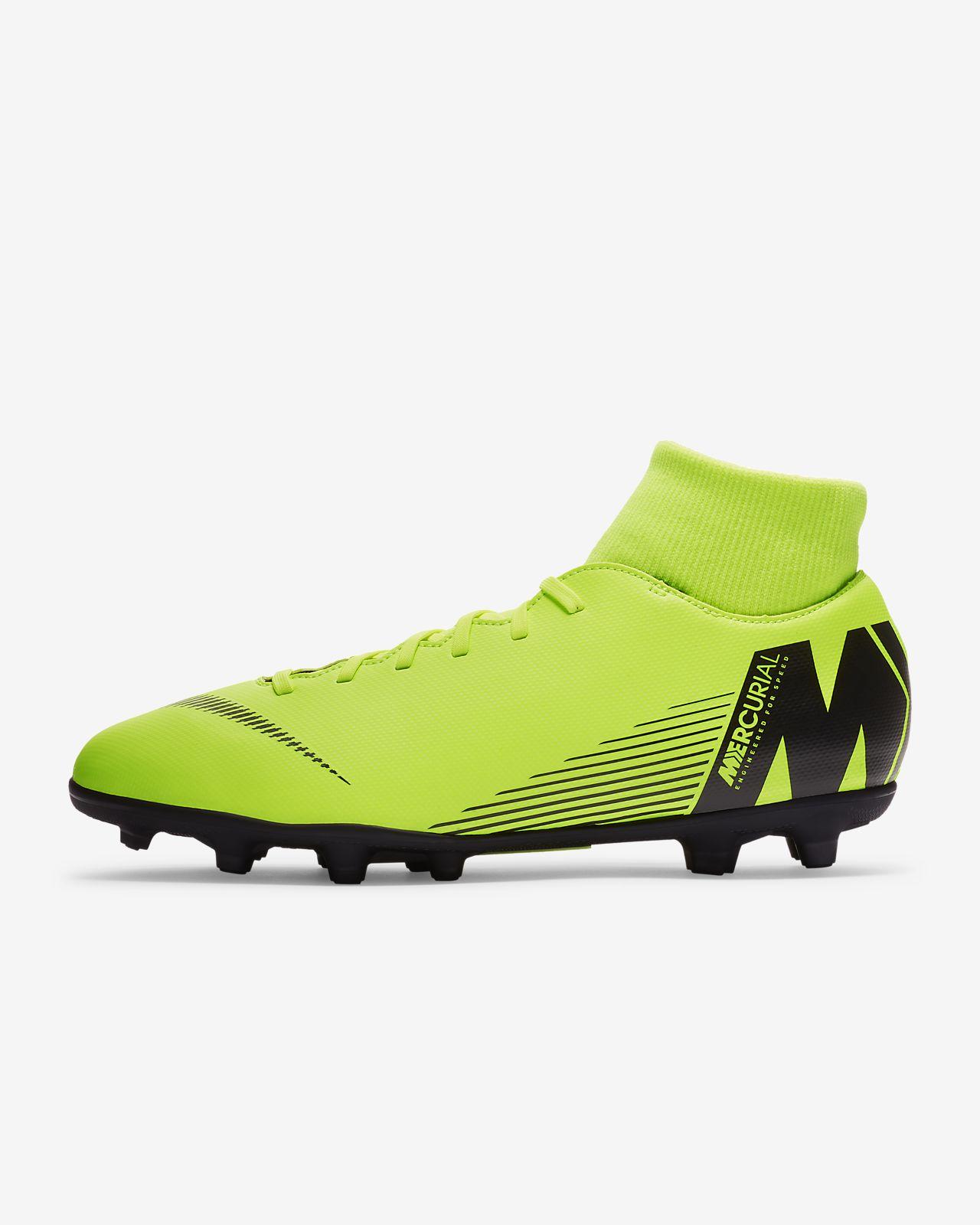 Футбольные бутсы для игры на разных покрытиях Nike Mercurial Superfly VI  Club 6321aff7be1c5
