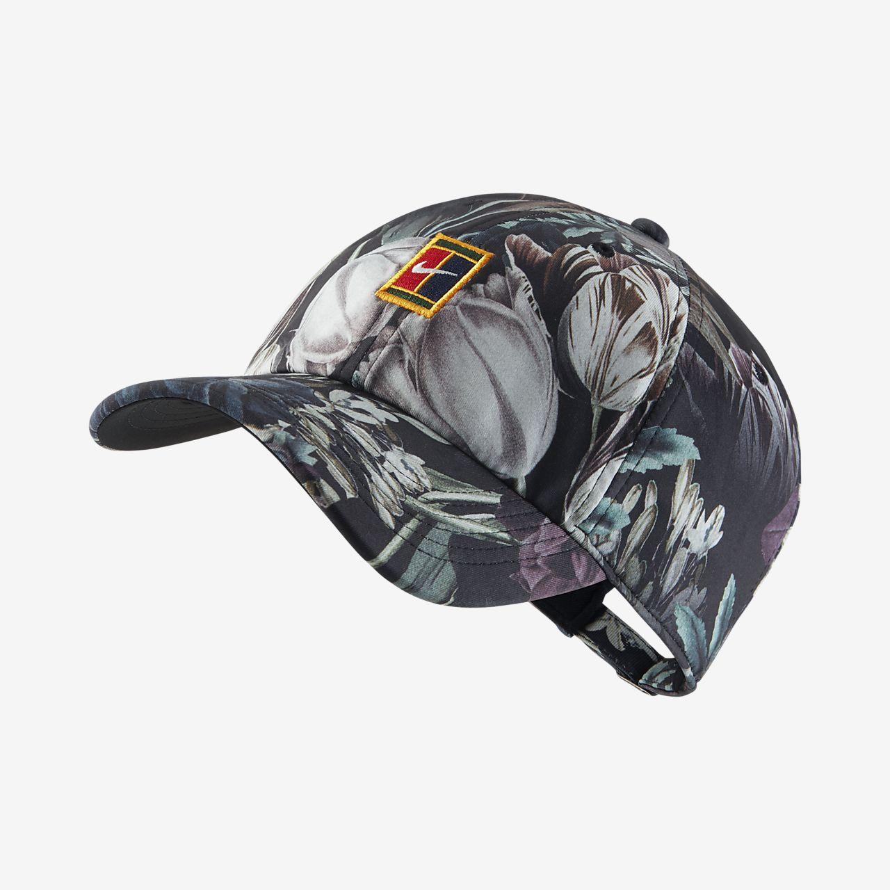 NikeCourt Heritage86 標誌花卉網球帽