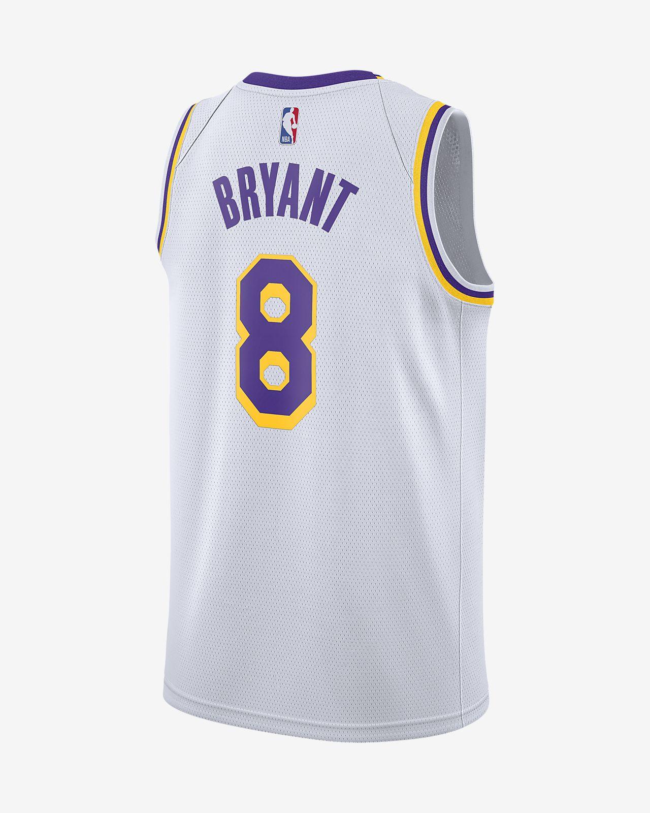 a7d789cd826 ... Kobe Bryant Association Edition Swingman (Los Angeles Lakers) Men's Nike  NBA Connected Jersey