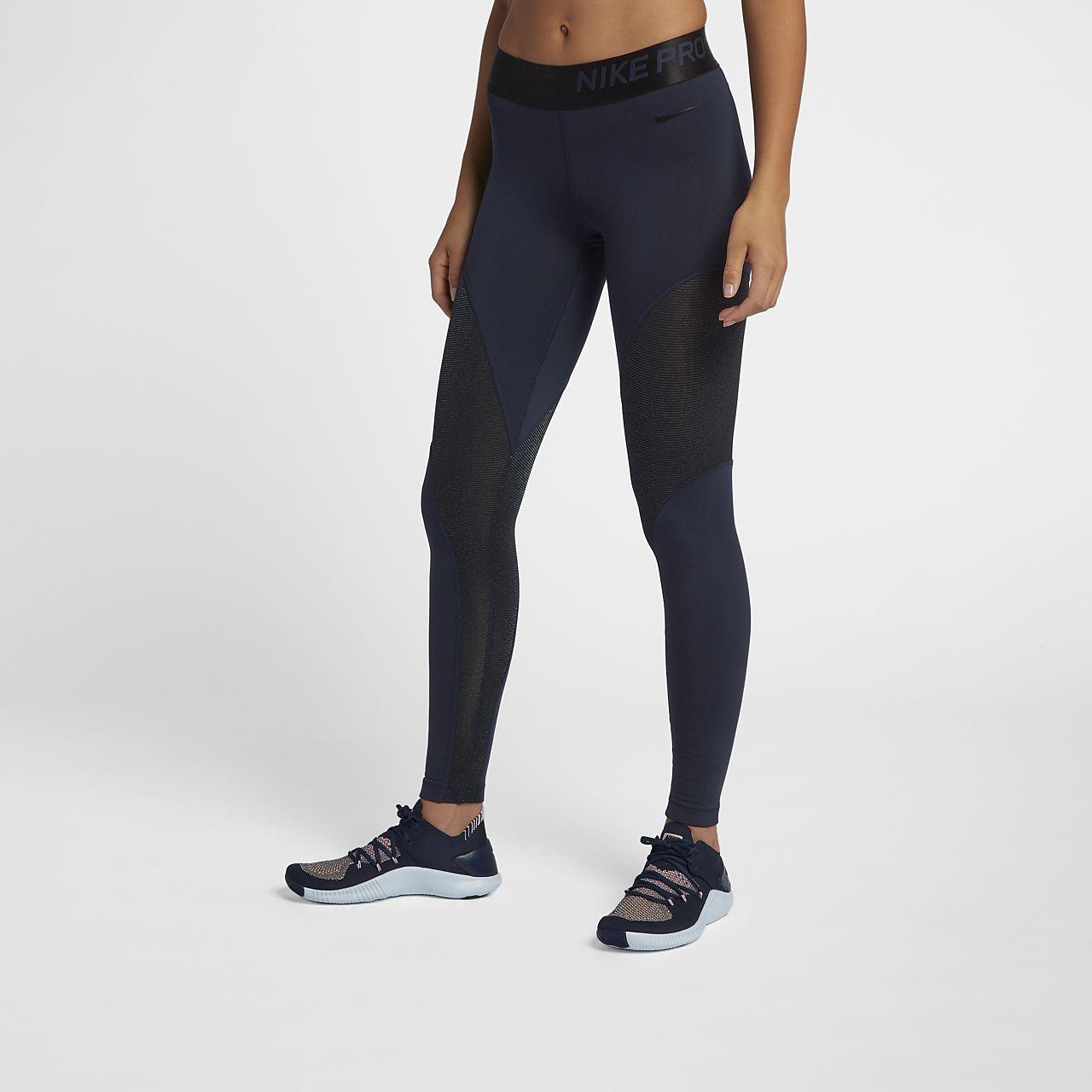 Dámské třpytivé 7 8 legíny Nike Pro Warm. Nike.com CZ e69dc08cbc