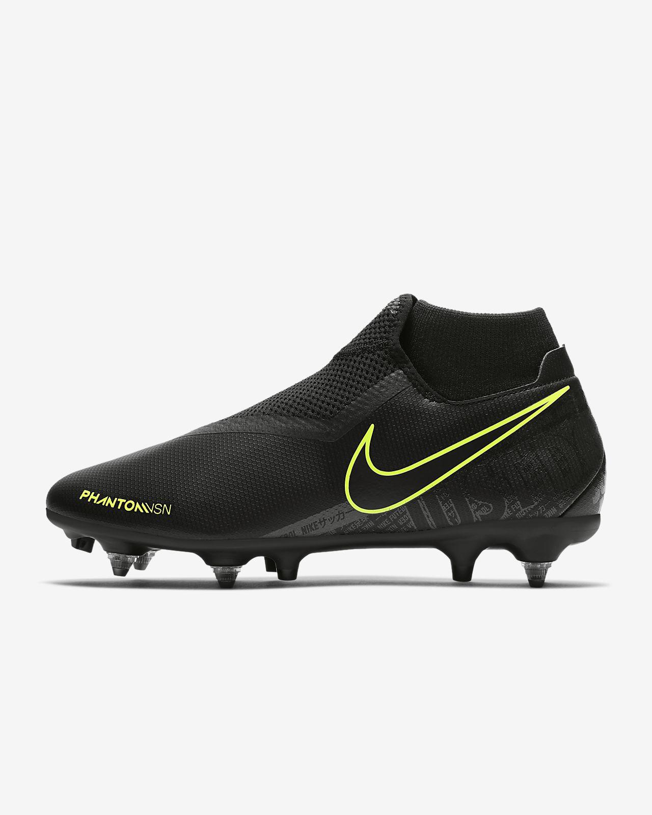 Nike PhantomVSN Academy Dynamic Fit SG-Pro Anti-Clog Traction Botas de fútbol para terreno blando
