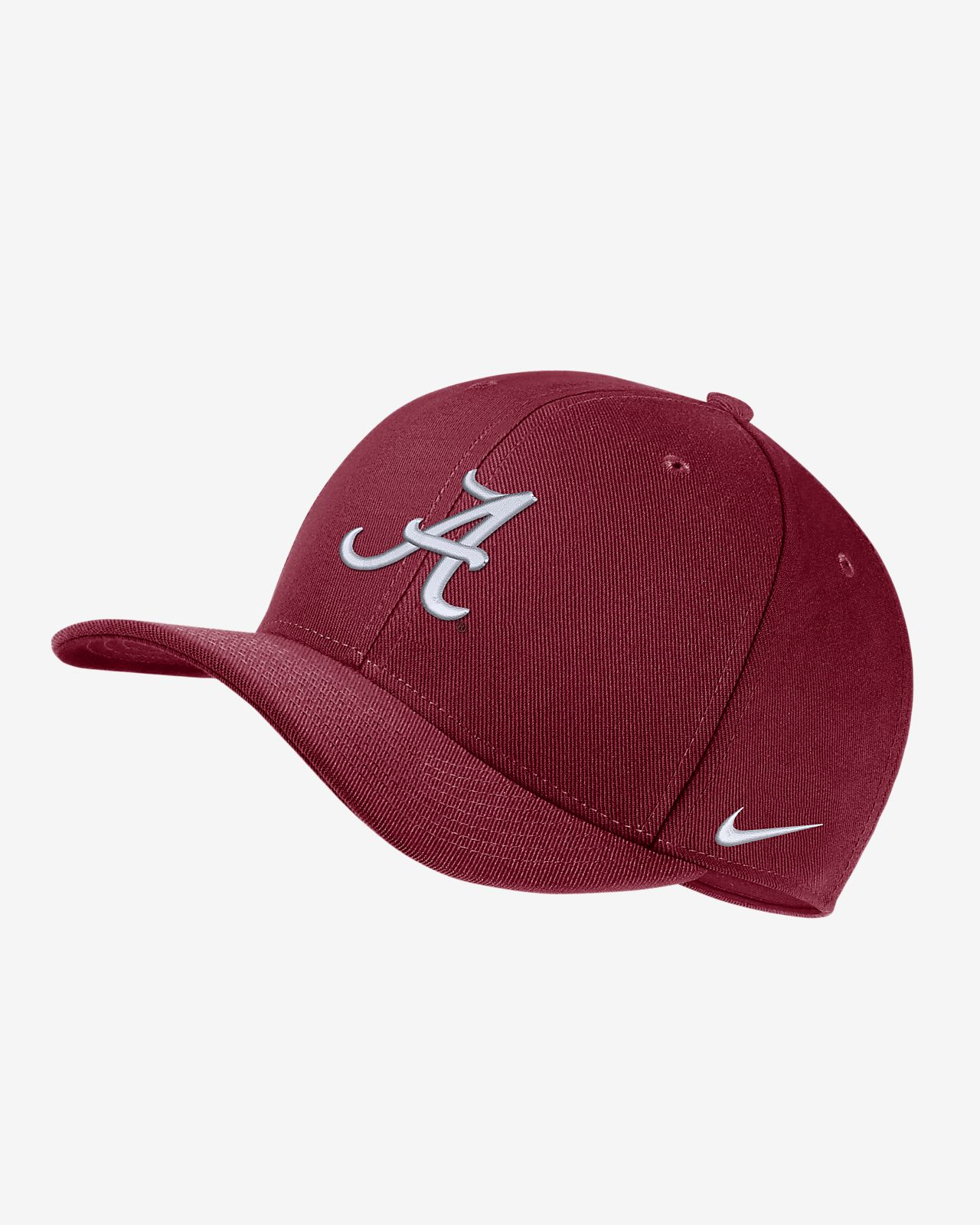 f47e928ee38 Nike College Dri-FIT Classic99 Swoosh Flex (Alabama) Fitted Hat ...