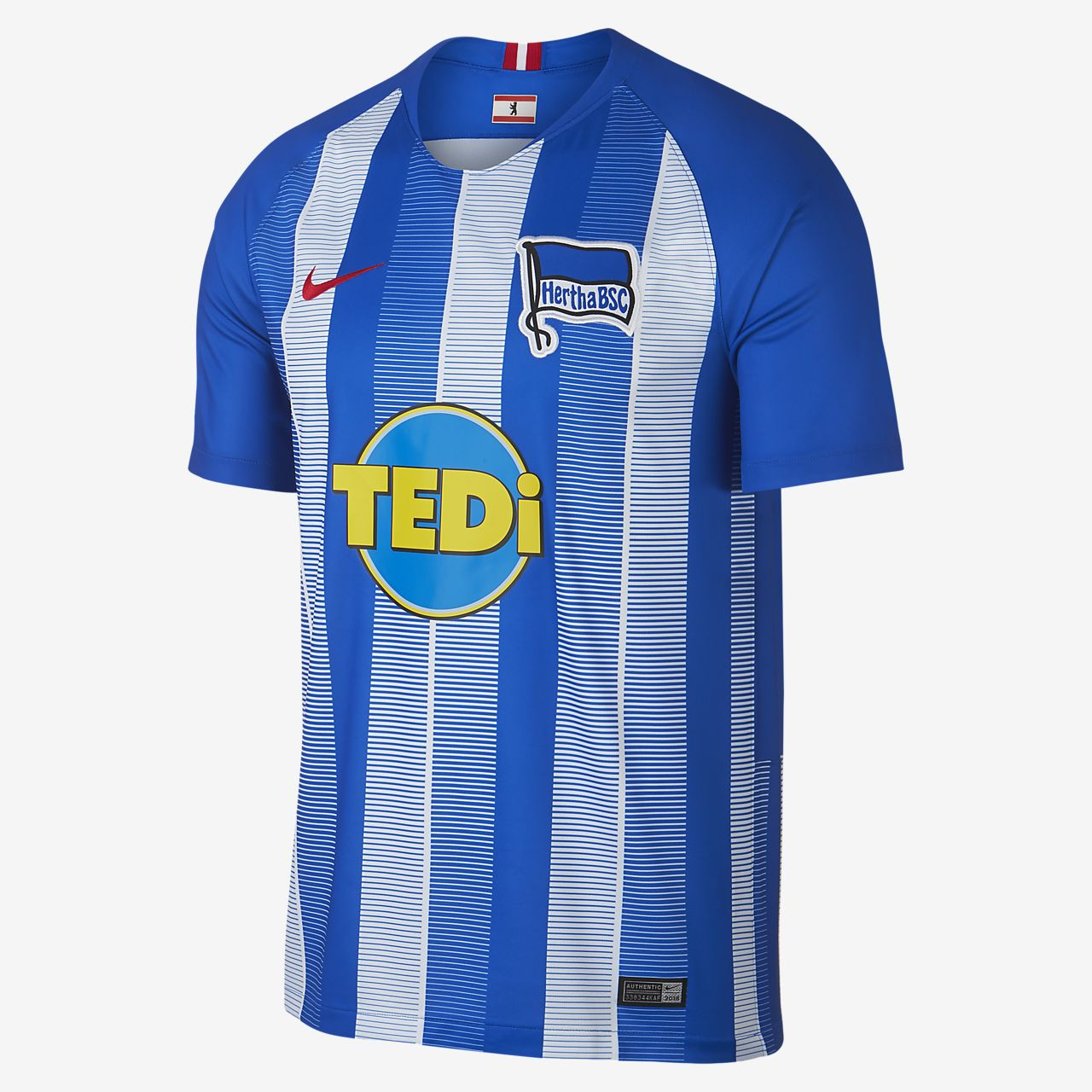 Camiseta de fútbol para hombre 2018 19 Hertha BSC Stadium. Nike.com MX 1aa7bd27c7009
