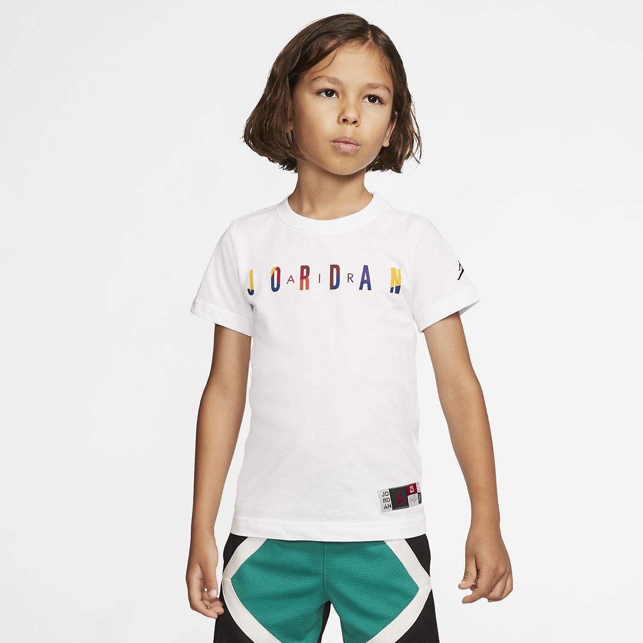 T-shirt z krótkim rękawem dla małych dzieci Jordan Air