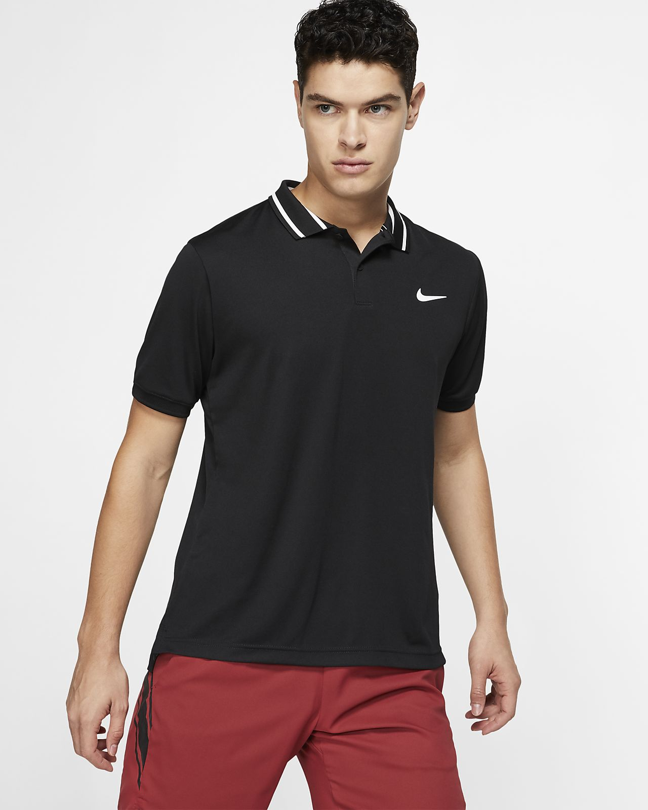 fdffde0ec1 NikeCourt Dri-FIT Men's Tennis Polo. Nike.com HU