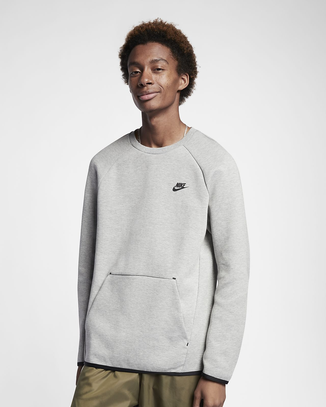 Haut à manches longues Nike Sportswear Tech Fleece pour Homme