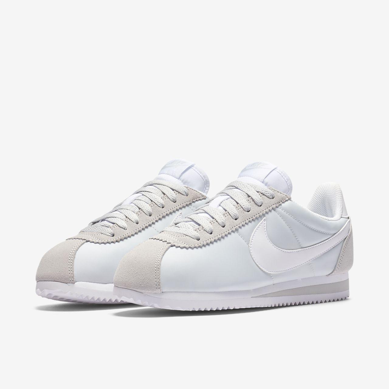 Nike Classique Chaussures En Nylon Gris Cortez EEihd