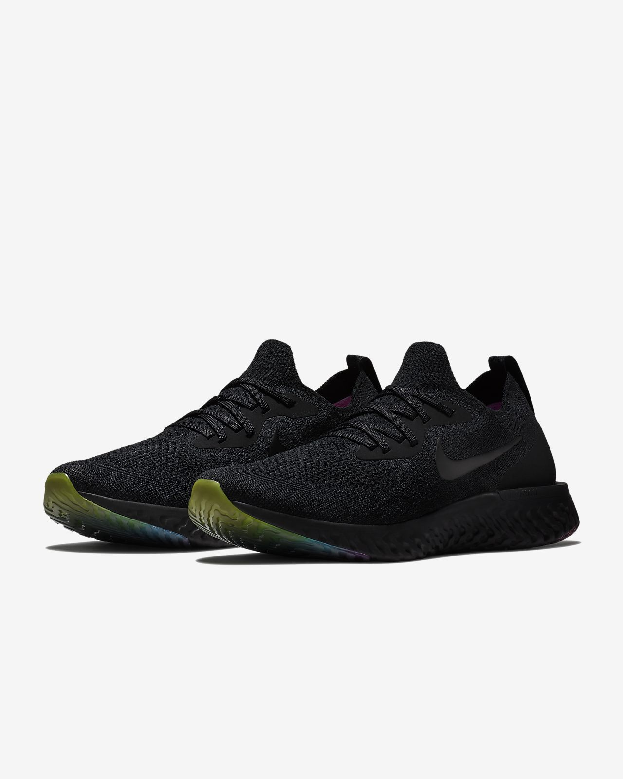 sports shoes f49ed d6106 ... coupon code for scarpa da running nike epic react flyknit betrue nero  pink blast purple pulse