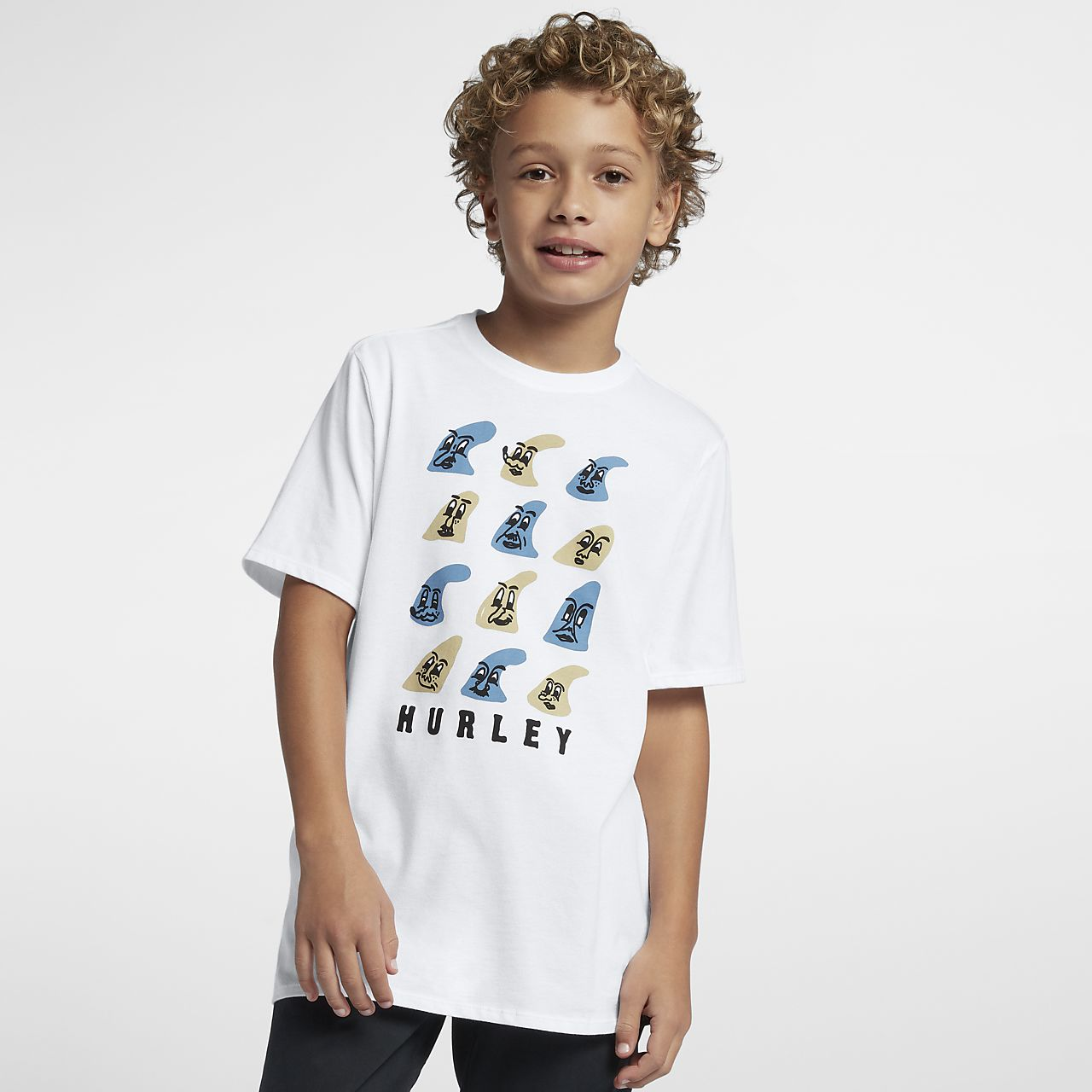 Футболка для мальчиков Hurley Premium Fin Face