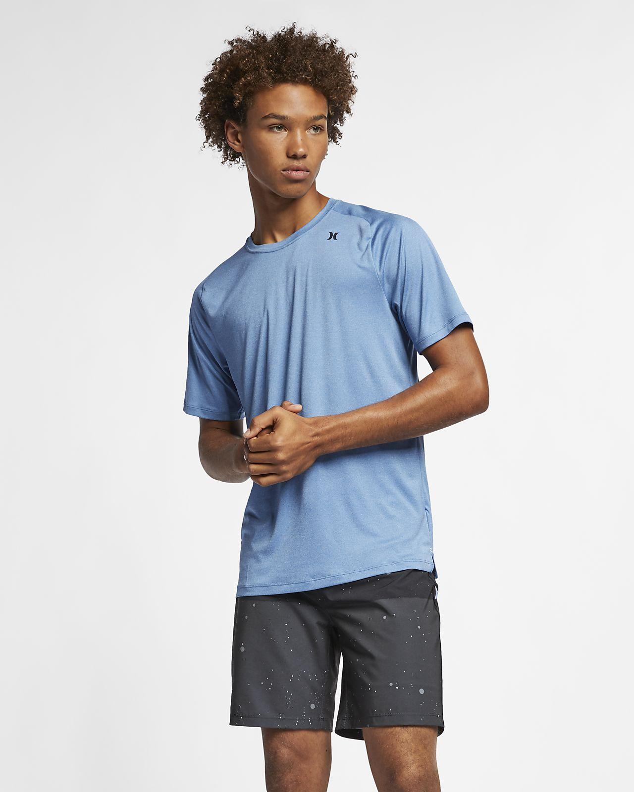 T-shirt Hurley Quick Dry för män