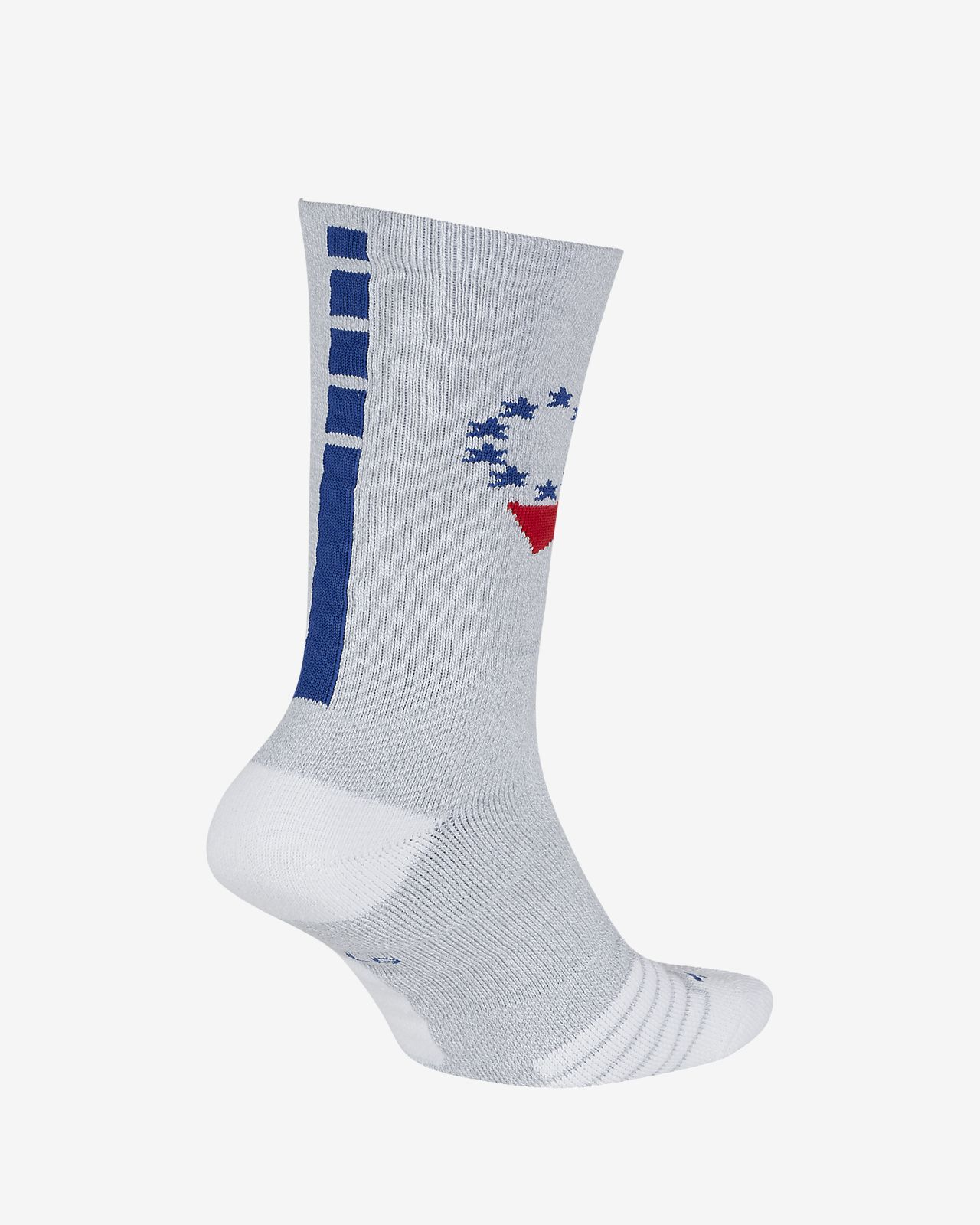 f6eb43a46d Philadelphia 76ers Nike Elite NBA Crew Socks