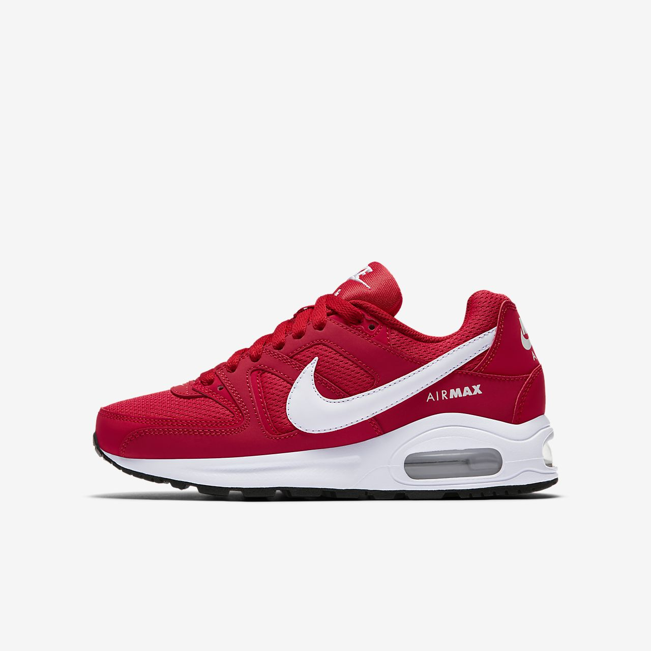 zapatillas nike air max command bordo