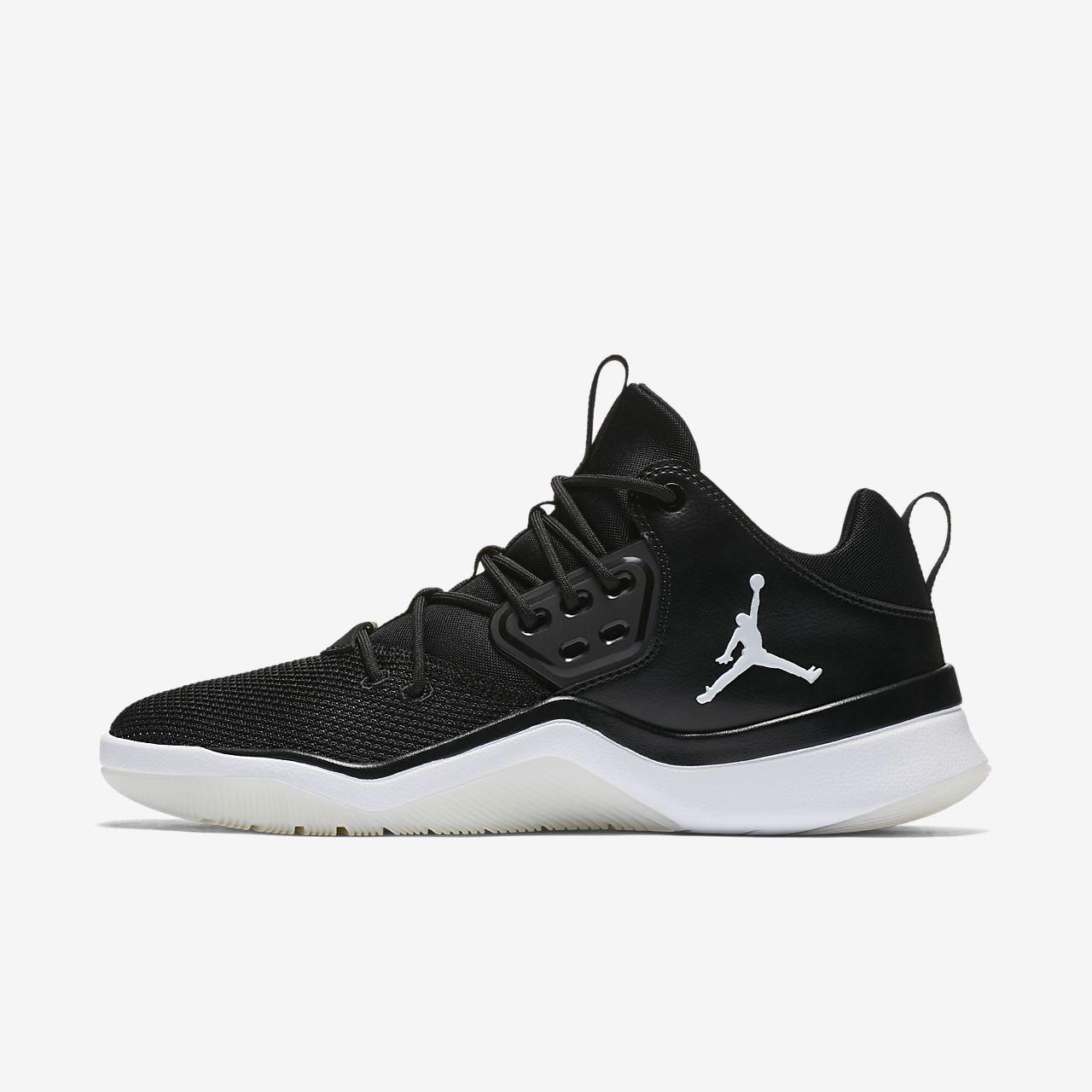 Jordan Nike Herren Air DNA Rot Textil/Synthetik Sneaker