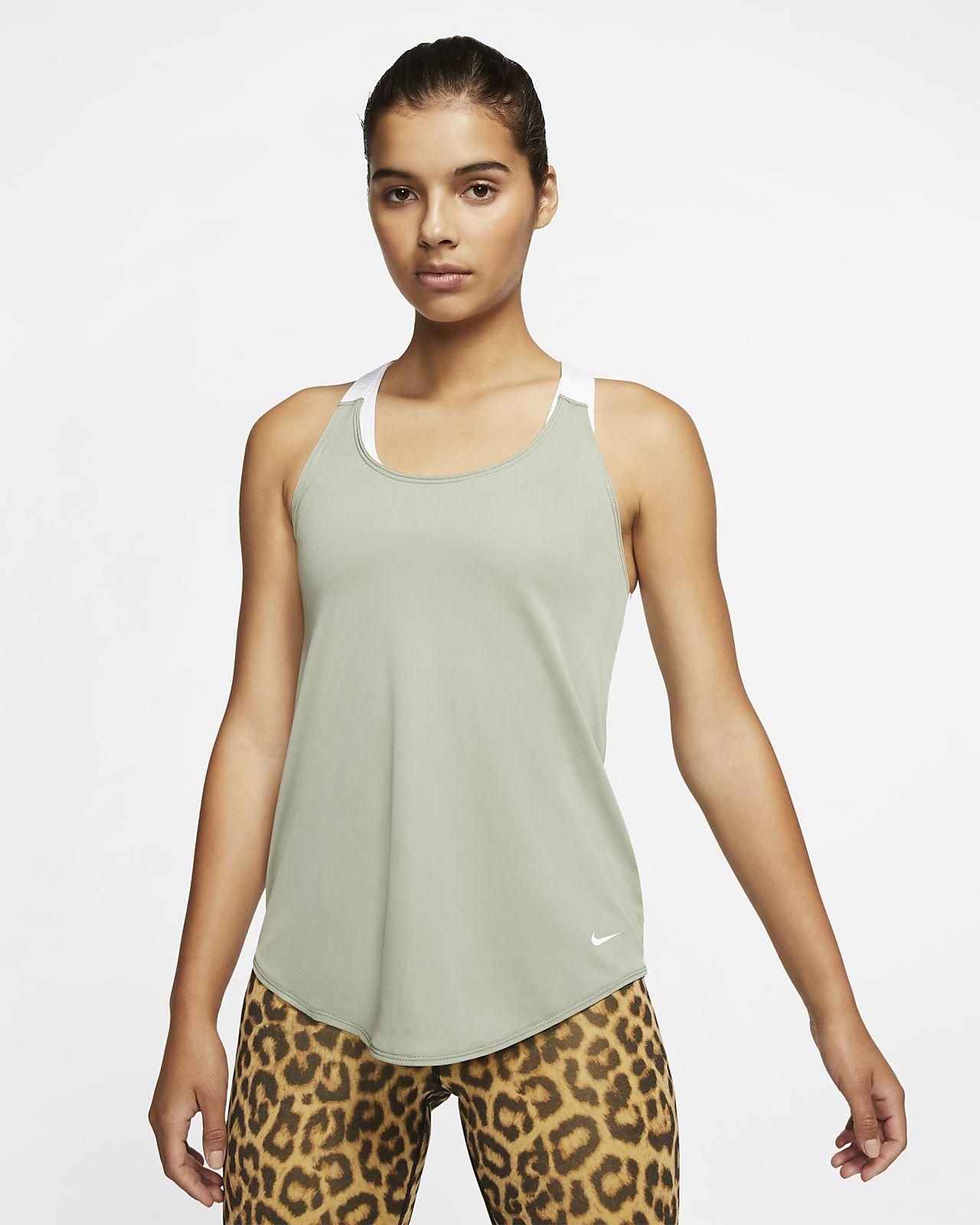 Camisola de treino sem mangas Nike Dri-FIT para mulher