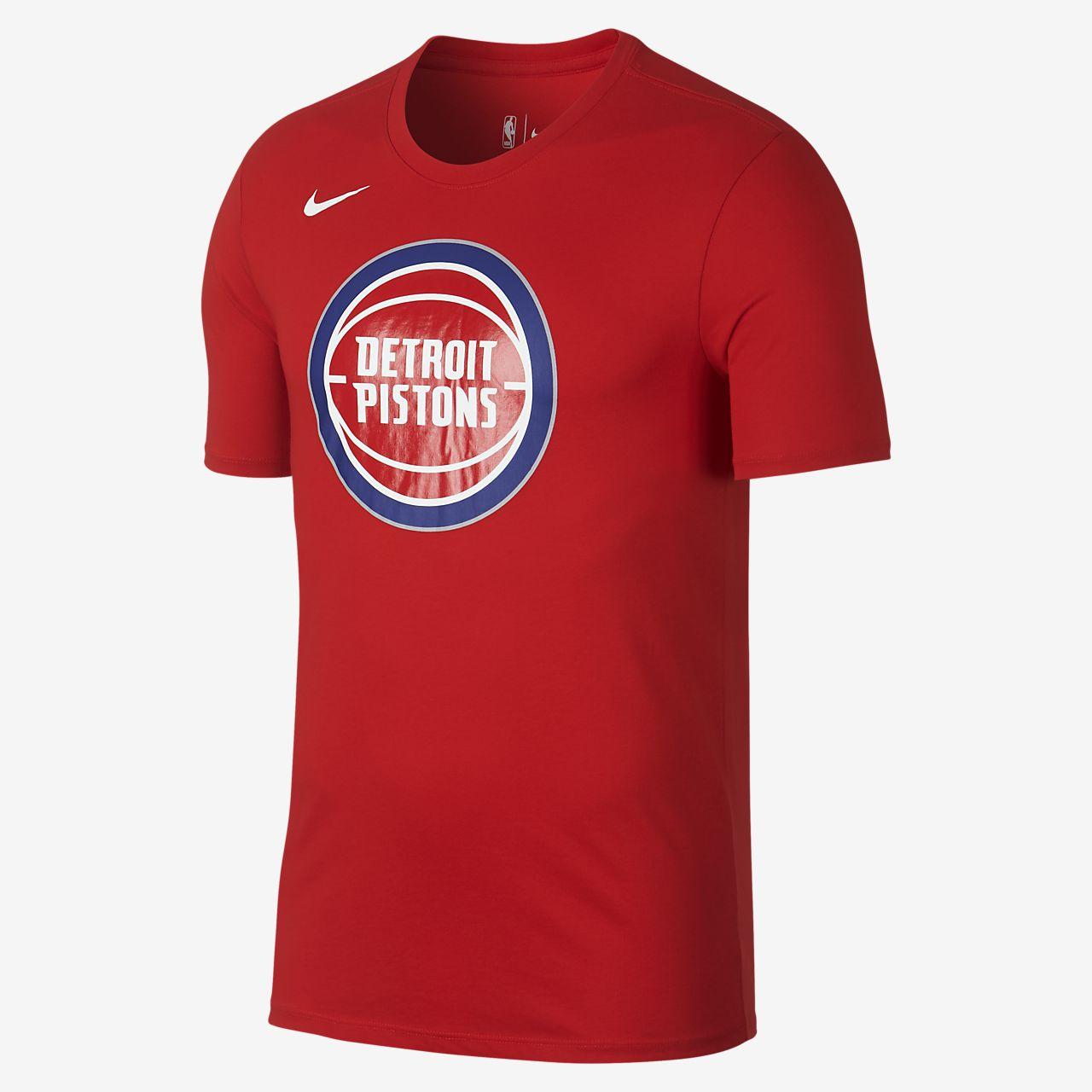 detroit pistons nike dry logo men s nba t shirt nike com rh nike com Nike Football Logo Nike Baseball Plate Logo