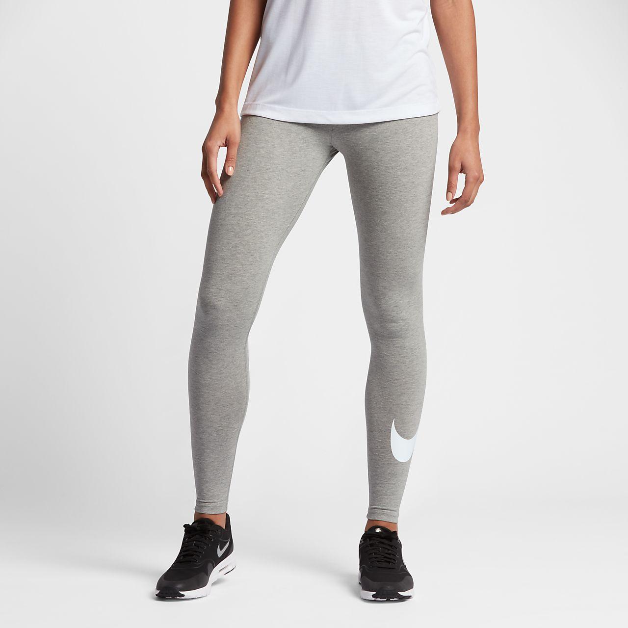 Nike Sportswear Damen-Leggings mit Swoosh