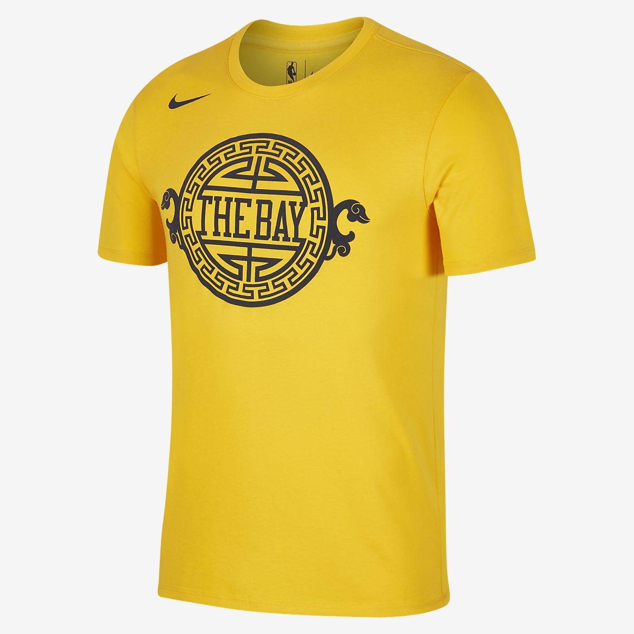 Playera de la NBA para hombre Golden State Warriors City Edition Nike  Dri-FIT e84b4763b4911
