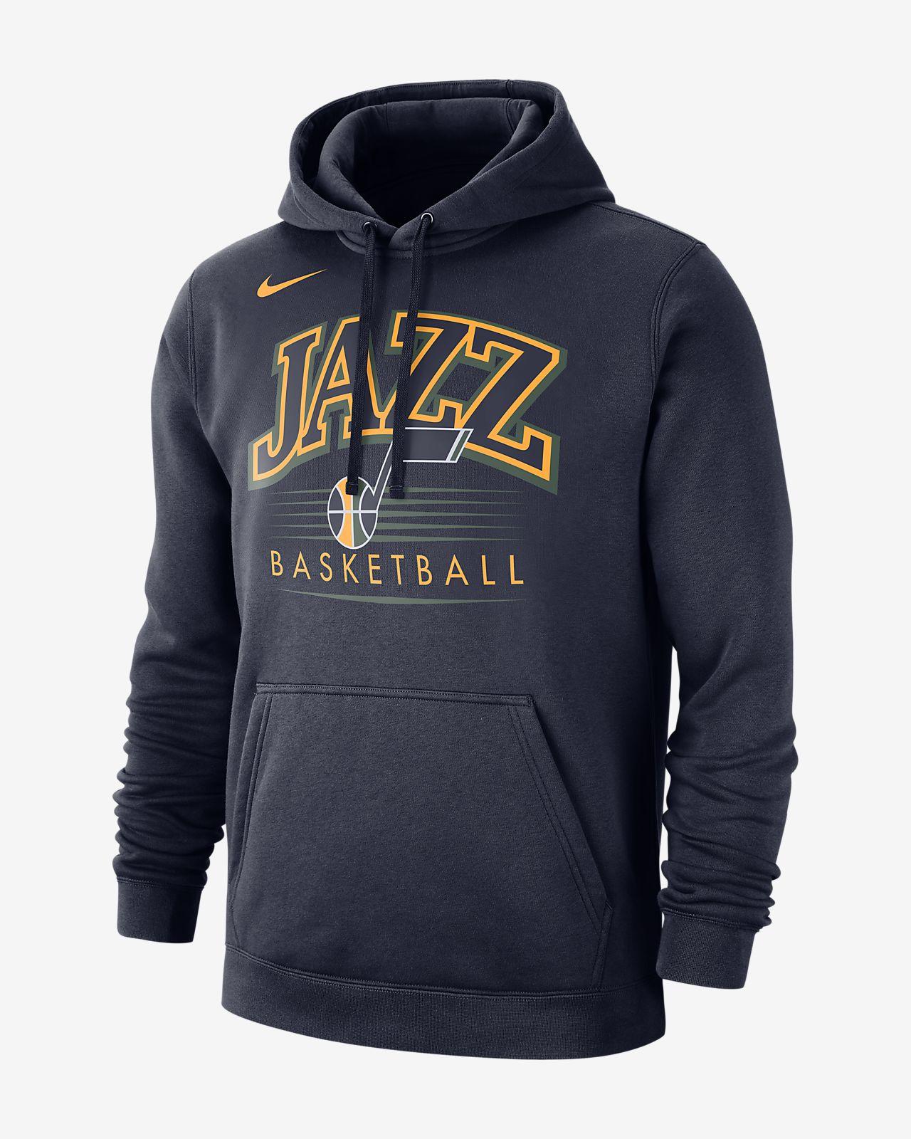 Pánská mikina NBA s kapucí Utah Jazz Nike